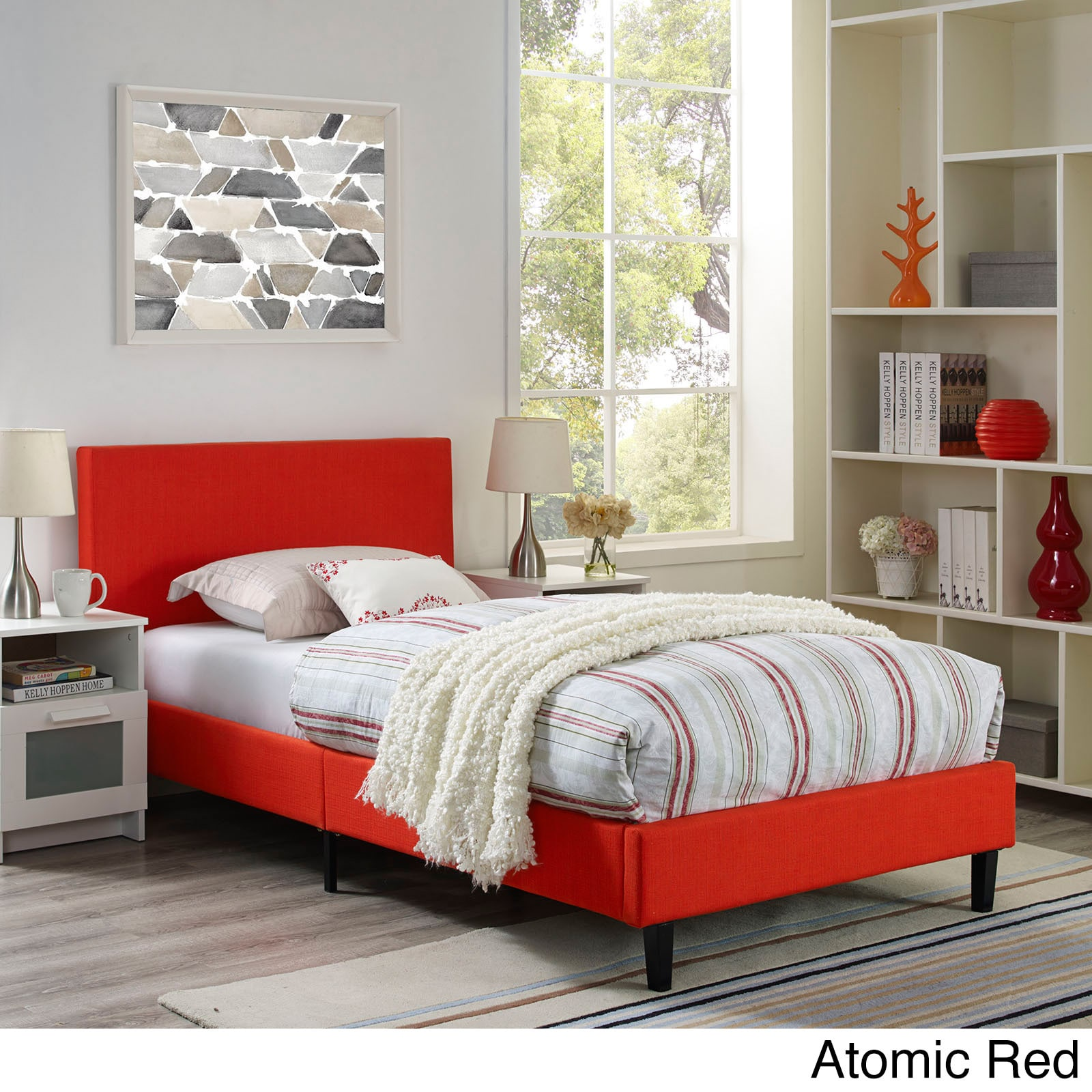Shop Anya Bed Frame - Free Shipping Today - Overstock.com - 14230940
