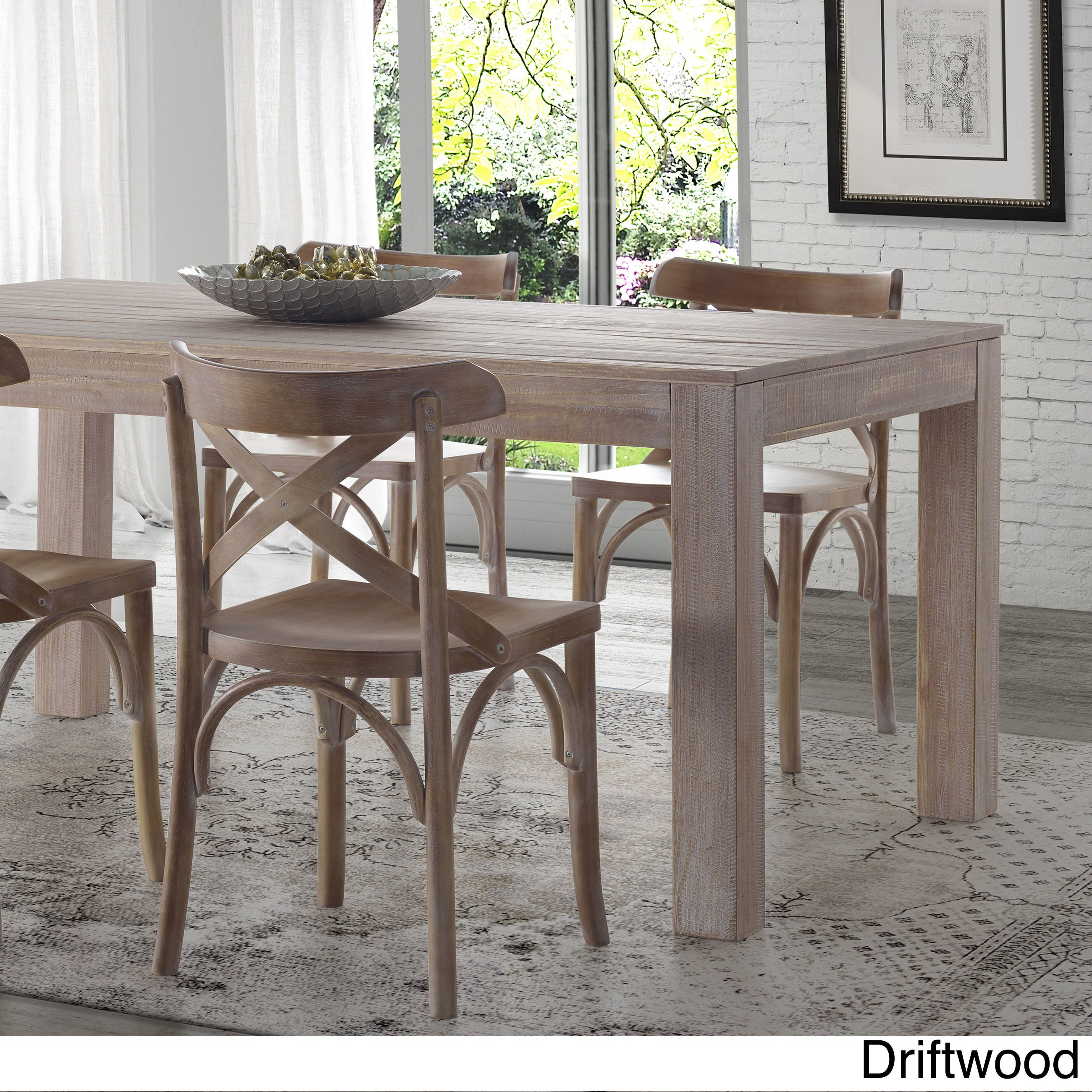 b05374a86634 Shop Grain Wood Furniture - Montauk Dining Table - Solid Wood - Free ...