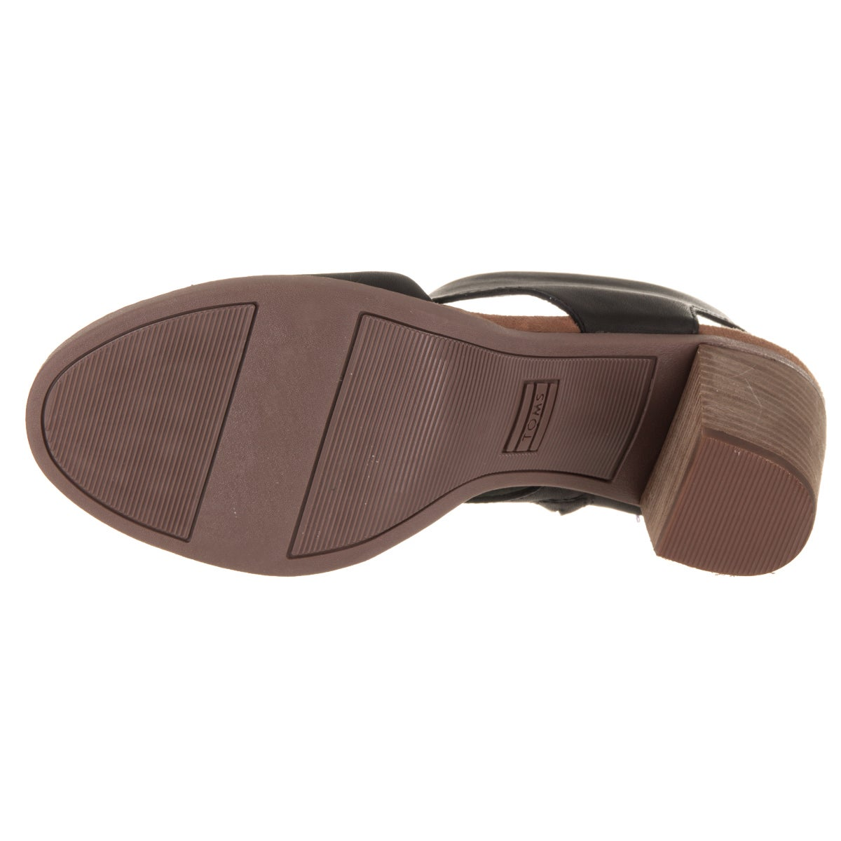 dcdd28f972d Shop Toms Women s Majorca Black Leather Cutout Sandals - Free Shipping  Today - Overstock - 14231012