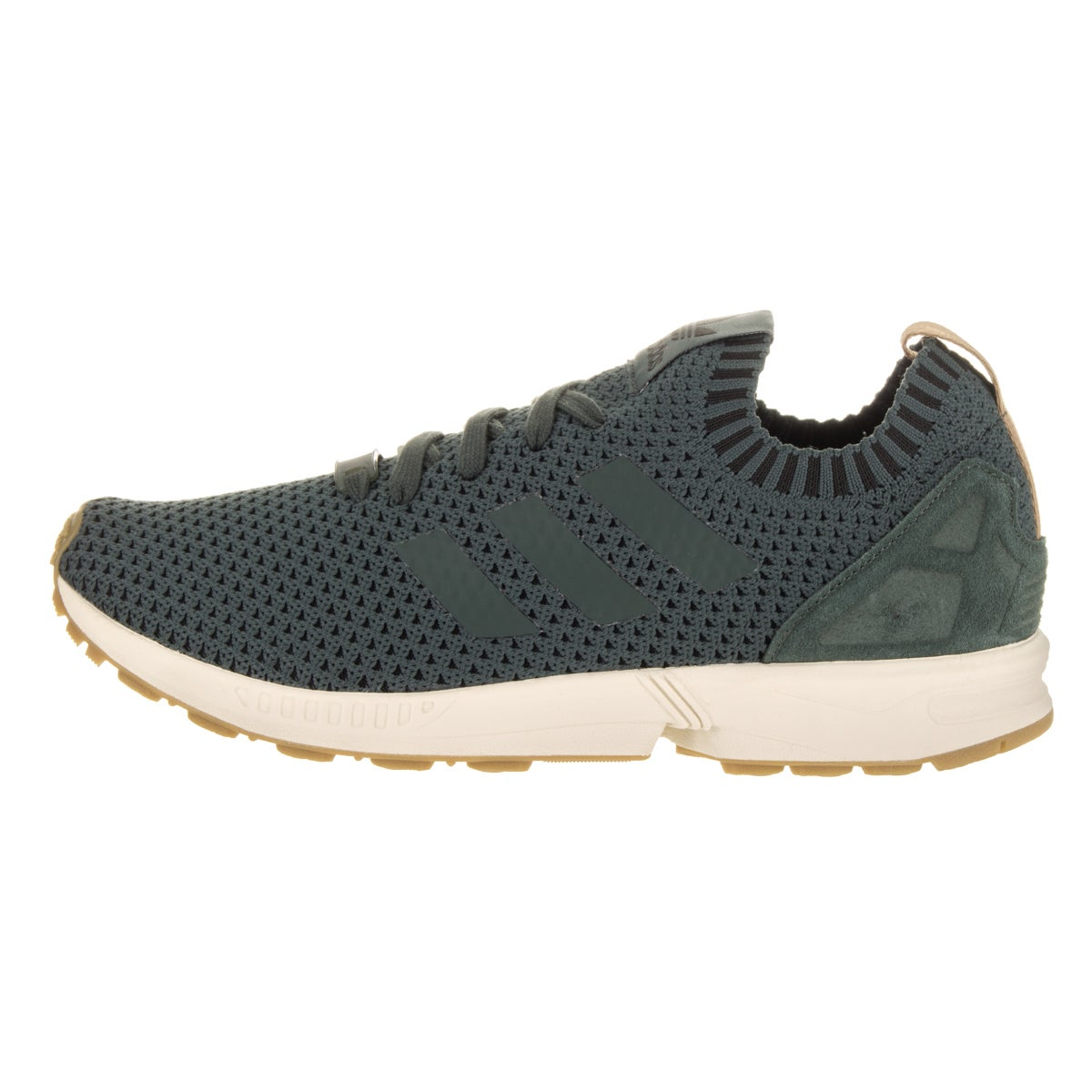 7f7b5c4ec get adidas zx flux el toddlers style af6260 cc4bb 59011  coupon for shop  adidas mens zx flux pk originals green textile casual shoes free shipping  today