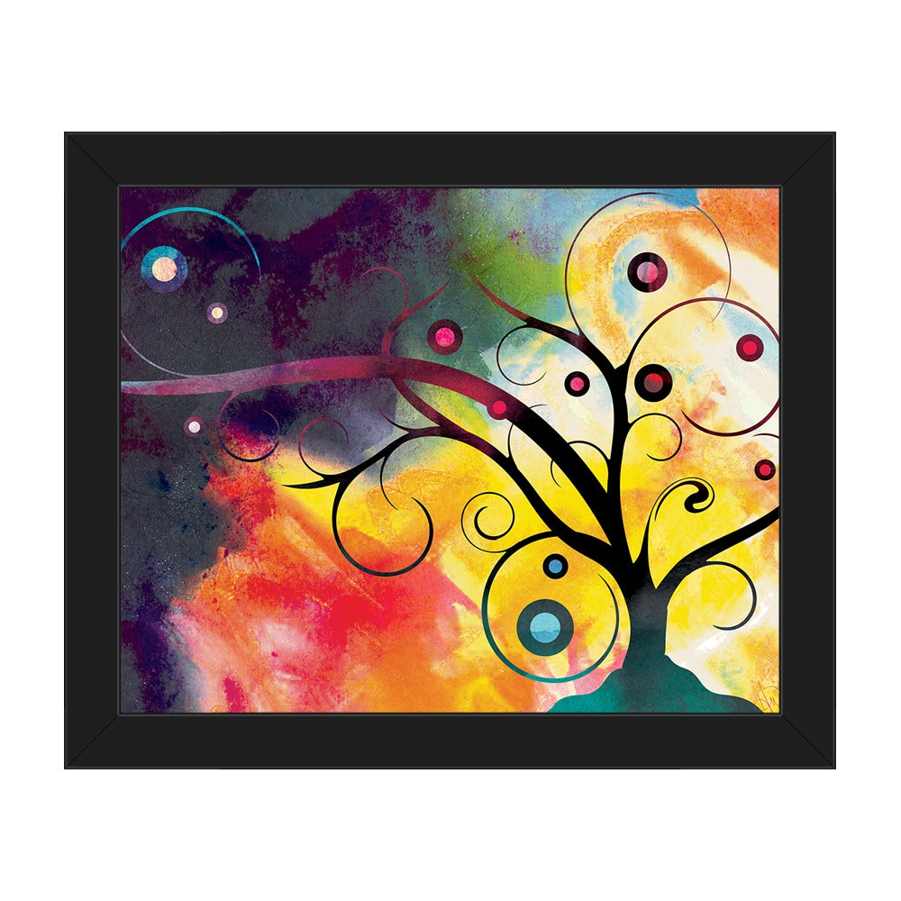 Yggdrasil on Sunlight Framed Canvas Wall Art Print - Free Shipping ...