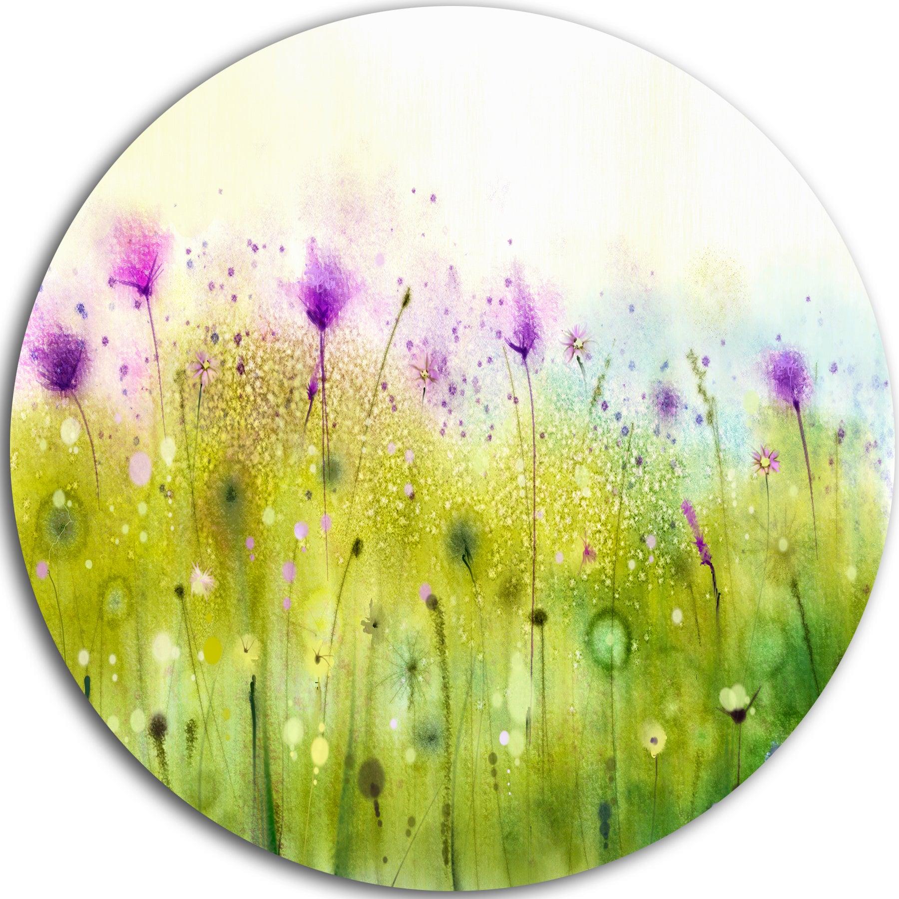 Stunning Purple Abstract Wall Art Photos - The Wall Art Decorations ...