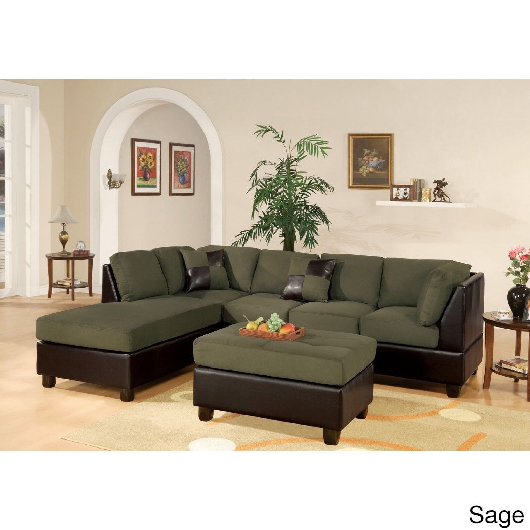 Shop 3-piece Sectional Sofa Set - Free Shipping Today - Overstock ...