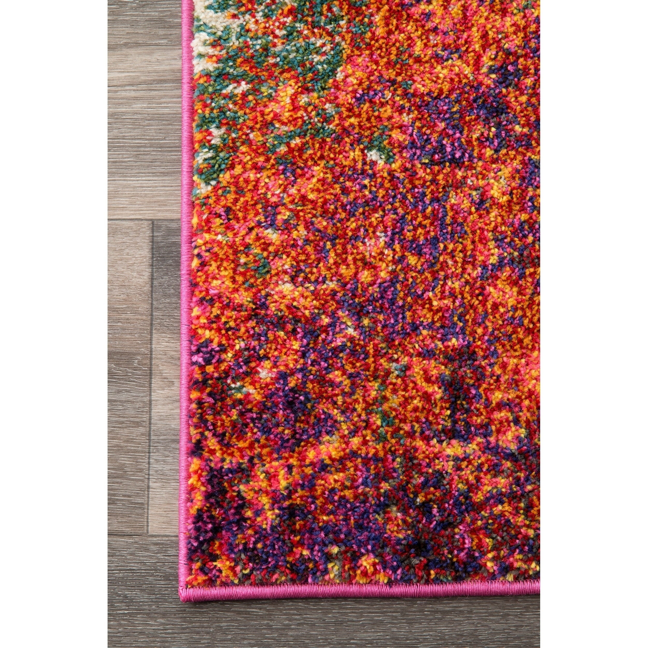 18cceaf10af3b1 Shop nuLOOM Vintage Inspired Abstract Fancy Vibrant Area Rug - On Sale -  Free Shipping Today - Overstock - 14253517