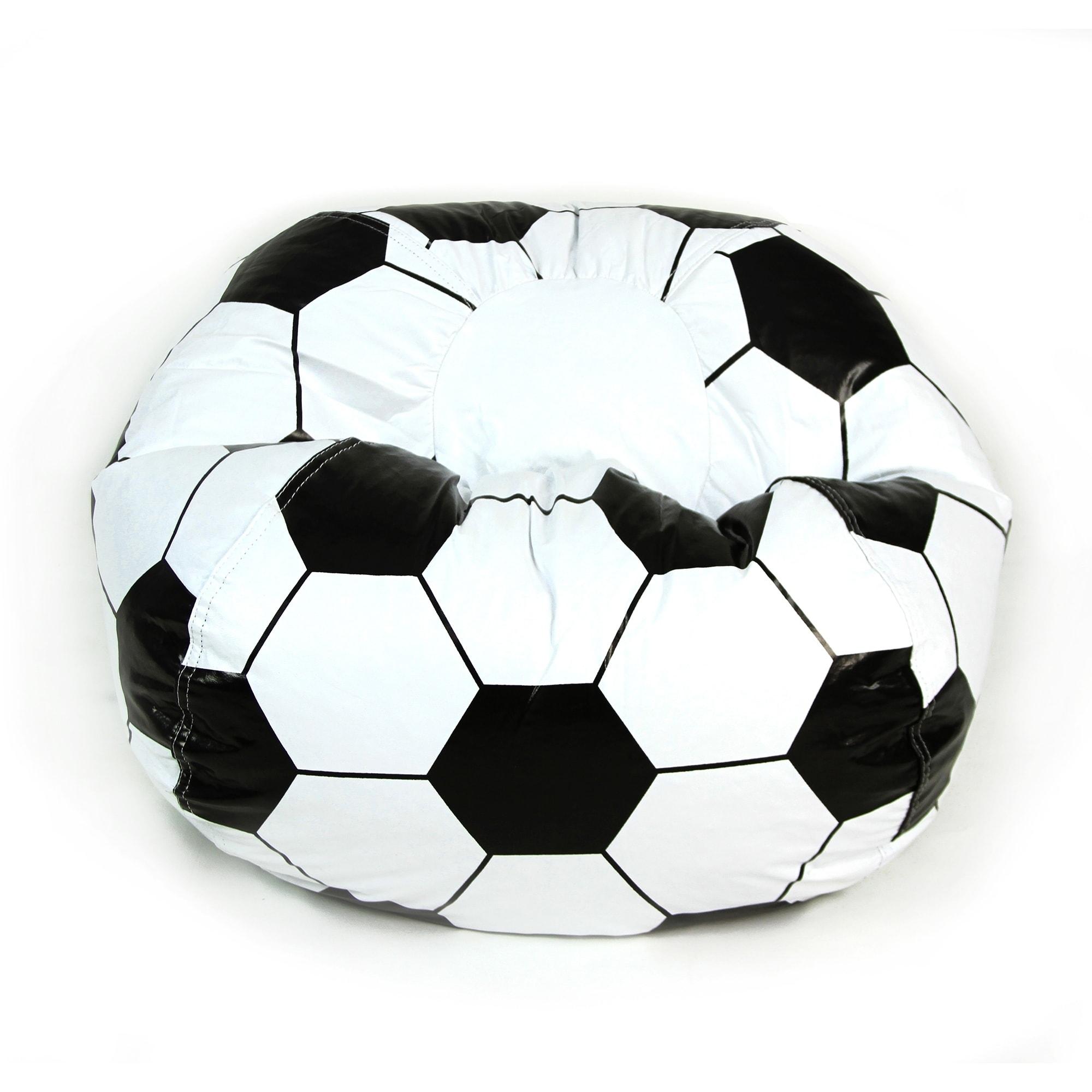 Soccer Ball Junior Sports Vinyl Pure Bead Bean Bag Free Shipping Today 14254927