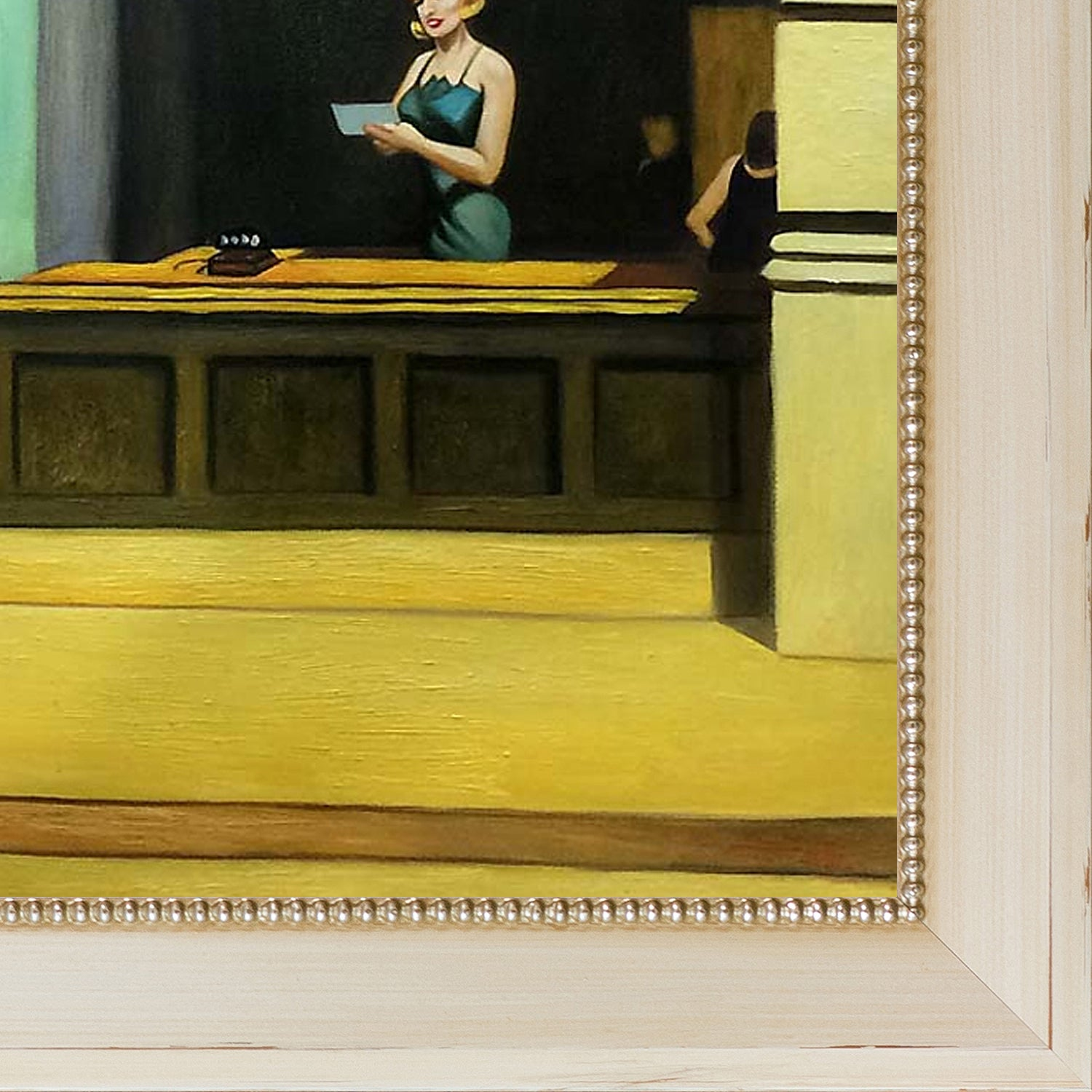 Edward Hopper New York Office 1962 Hand Painted Framed Oil Reproduction On Canvas Free Shipping Today 20844093