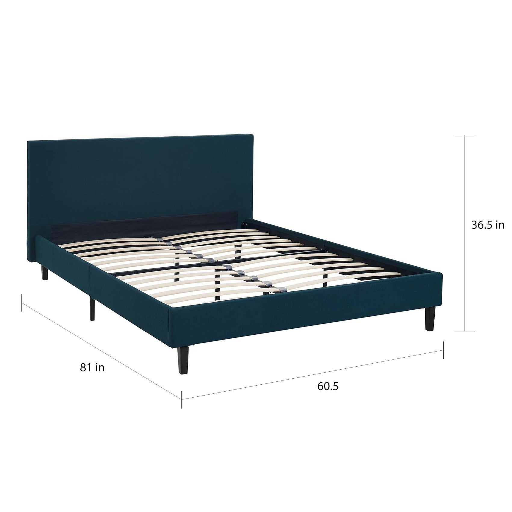 Anya Fabric Full Size Platform Bed On Free Shipping Today 14256036