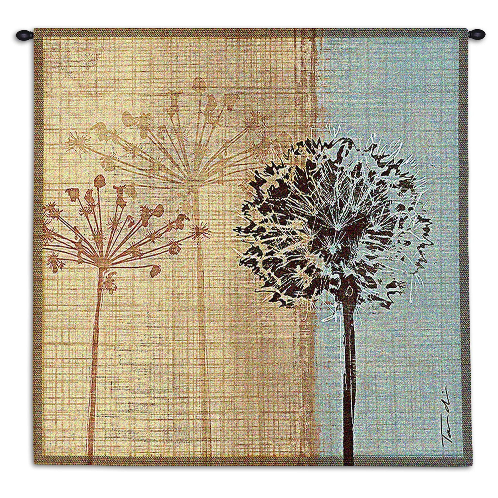 Shop Fine Art Tapestries \'In The Breeze\' Multicolored Cotton Wall ...