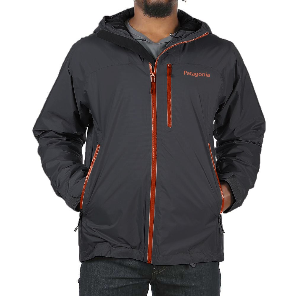Shop Patagonia Men's Triolet Grey Lightweight Waterproof Jacket - Free  Shipping Today - Overstock - 14268774 55cab458e1dc