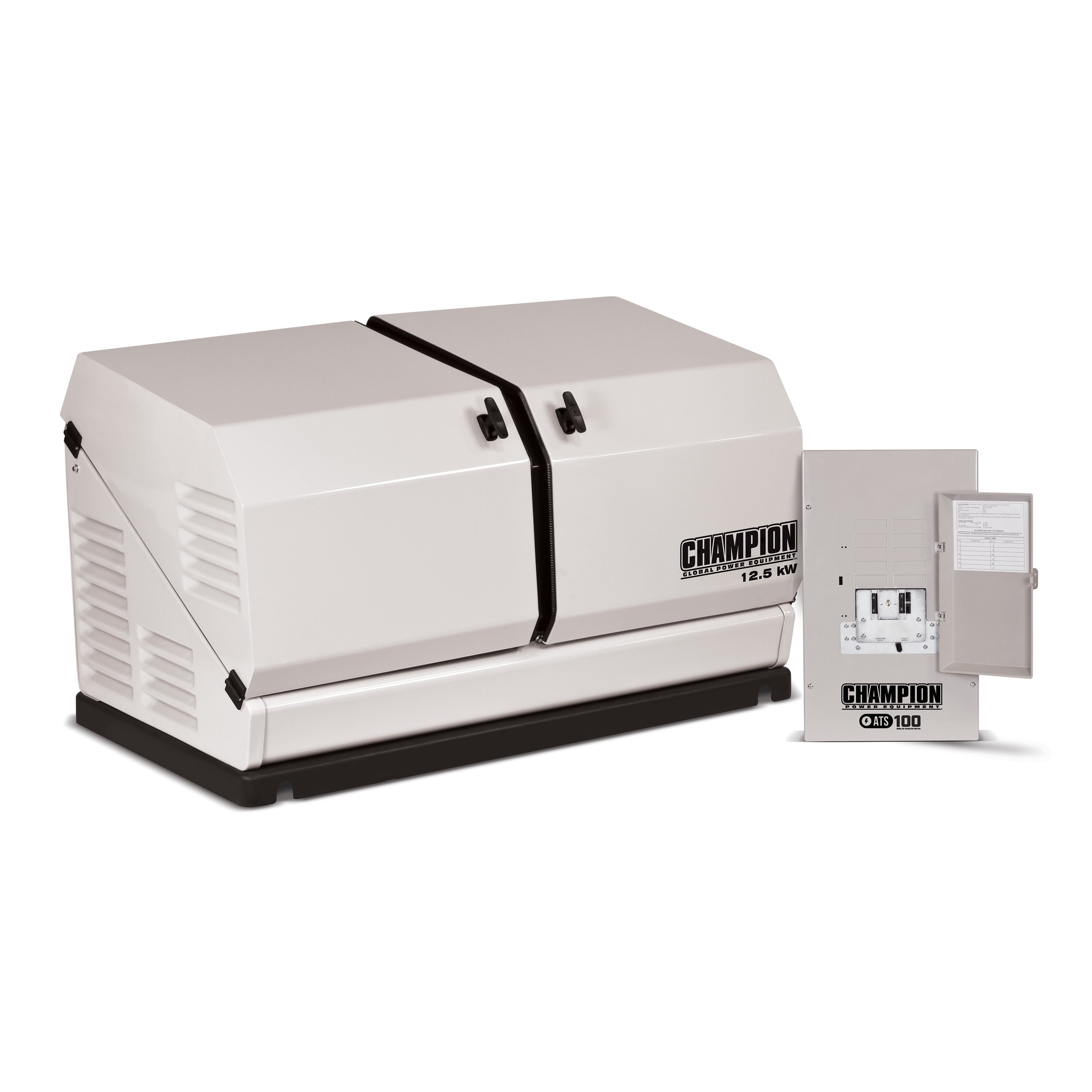 Champion 12 5 kW Home Standby Generator with 100 Amp Indoor Rated