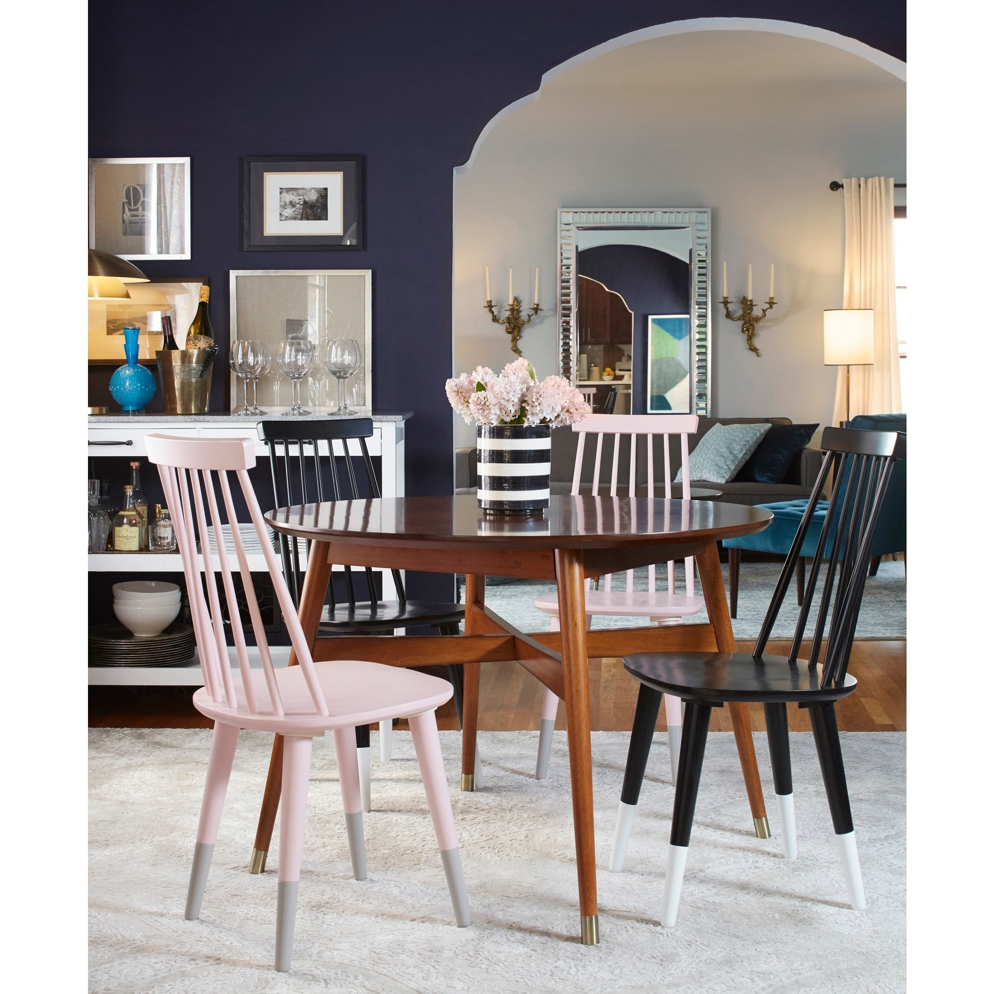 Angelo Home Allen Mid Century Dining Table On Free Shipping Today 14270745