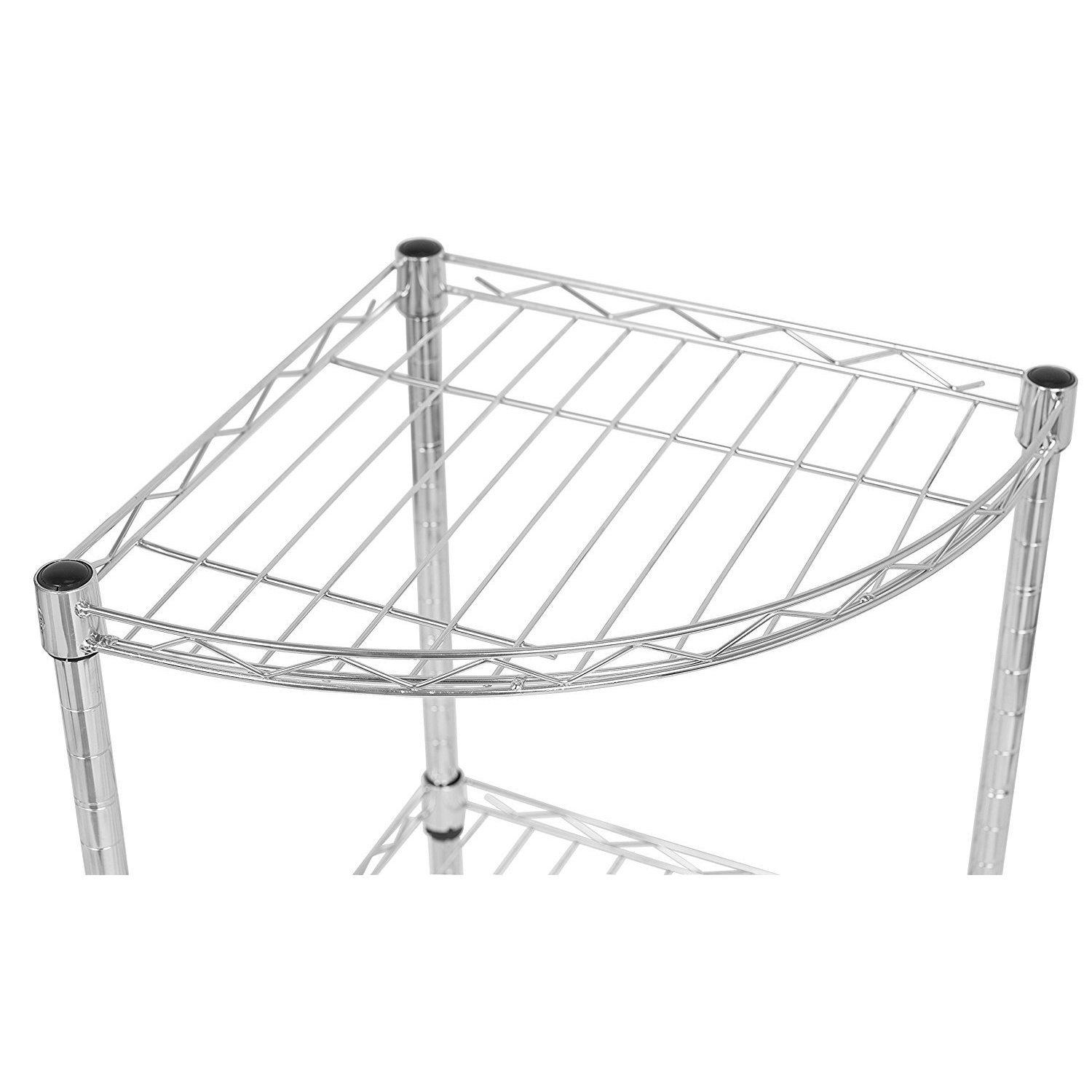 Corner wire table wire center shop internet s best 3 tier corner wire shelving free shipping on rh overstock com stranded wire table stranded wire table greentooth Gallery