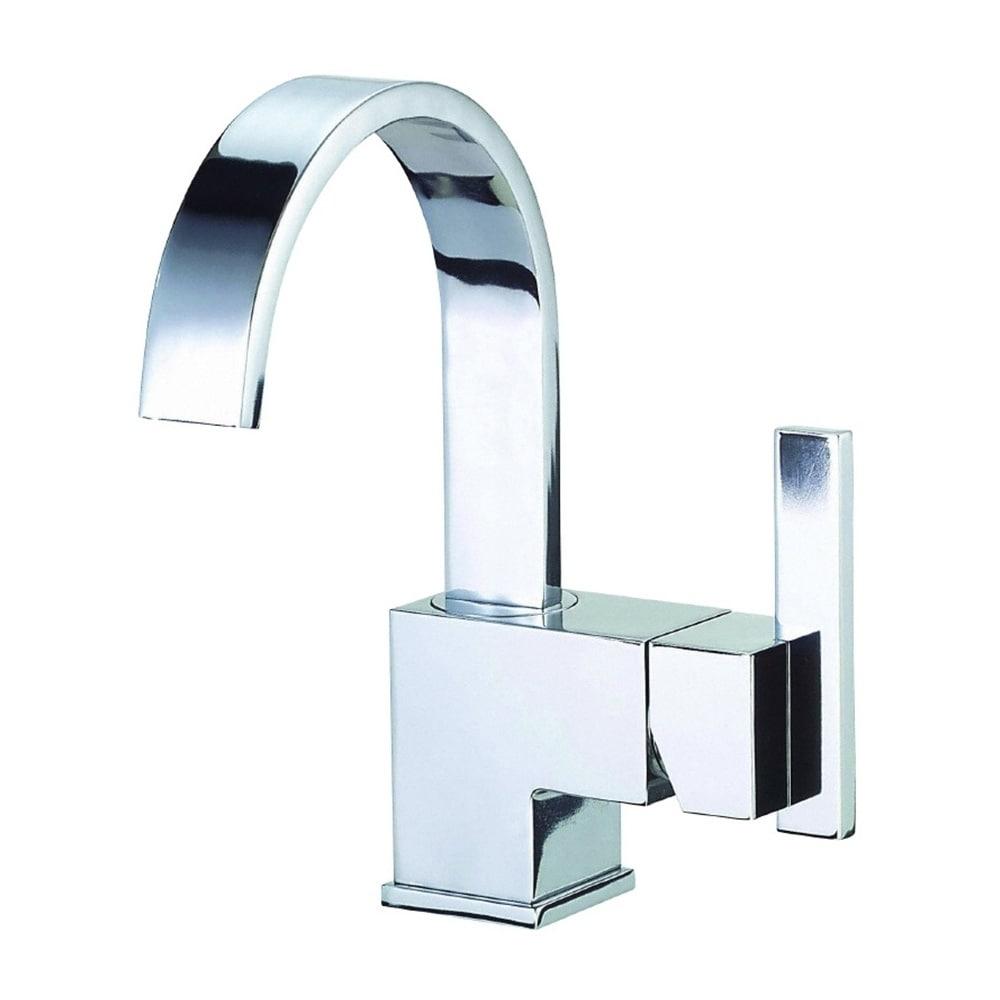 Shop Danze Sirius Single Hole Bathroom Faucet D221144 - Free ...