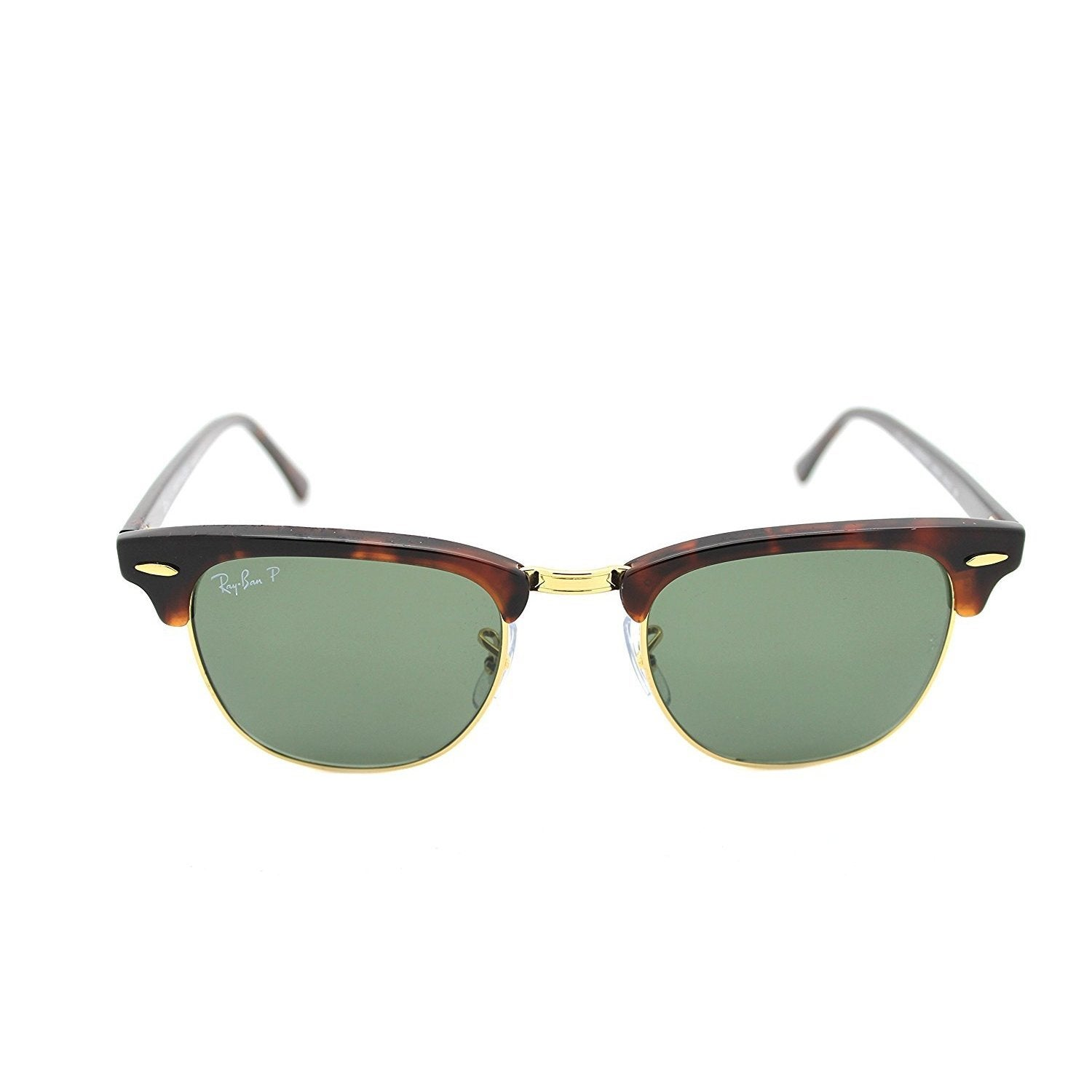 87e1439884 Shop Ray-Ban Clubmaster Classic RB3016 Tortoise Frame Polarized Green 49mm  Lens Sunglasses - Ships To Canada - Overstock.ca - 14276941