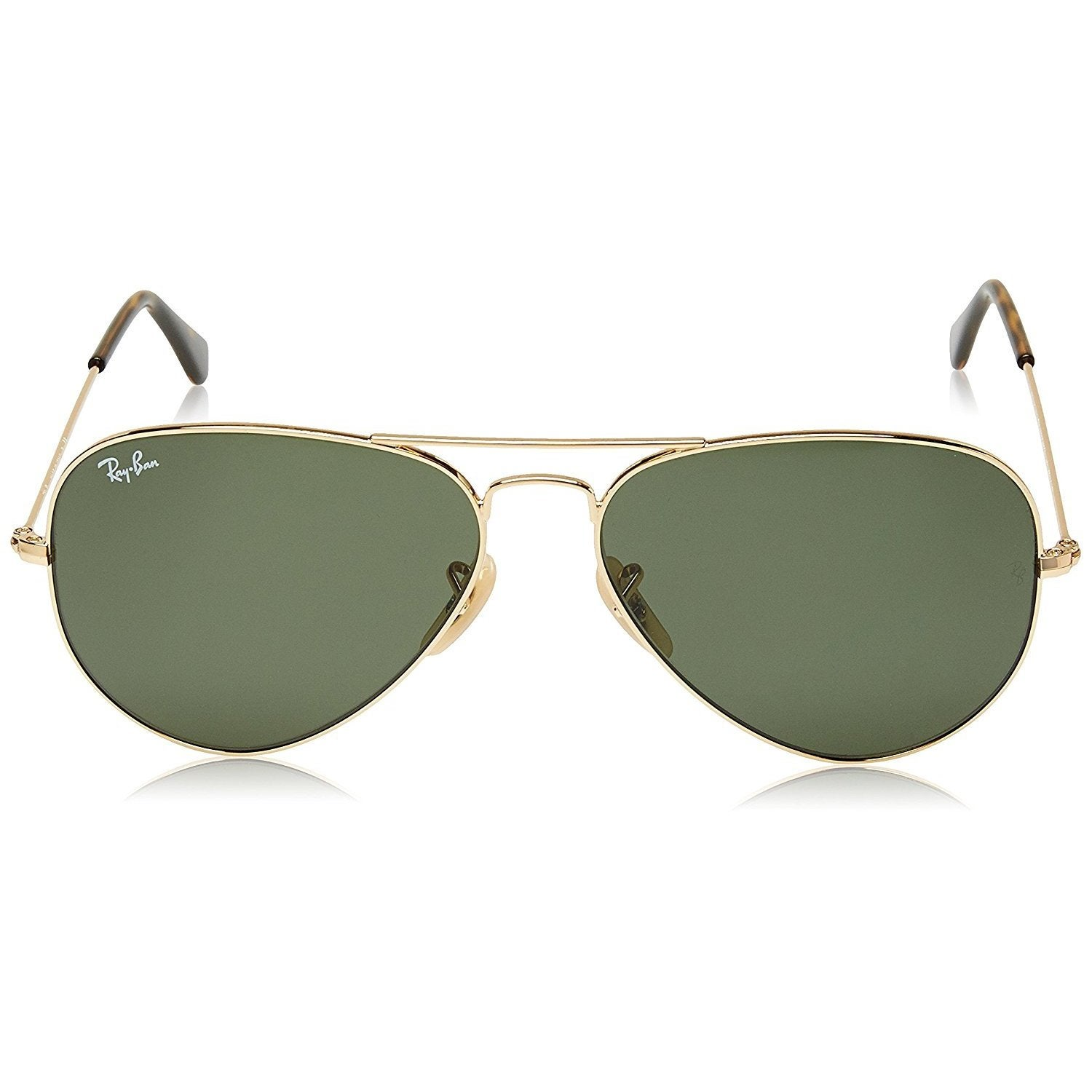6fc697b9254 Shop Ray-Ban RB3025 181 La Havana Aviator Gold Frame Green Classic 58mm  Lens Sunglasses - Free Shipping Today - Overstock - 14277118