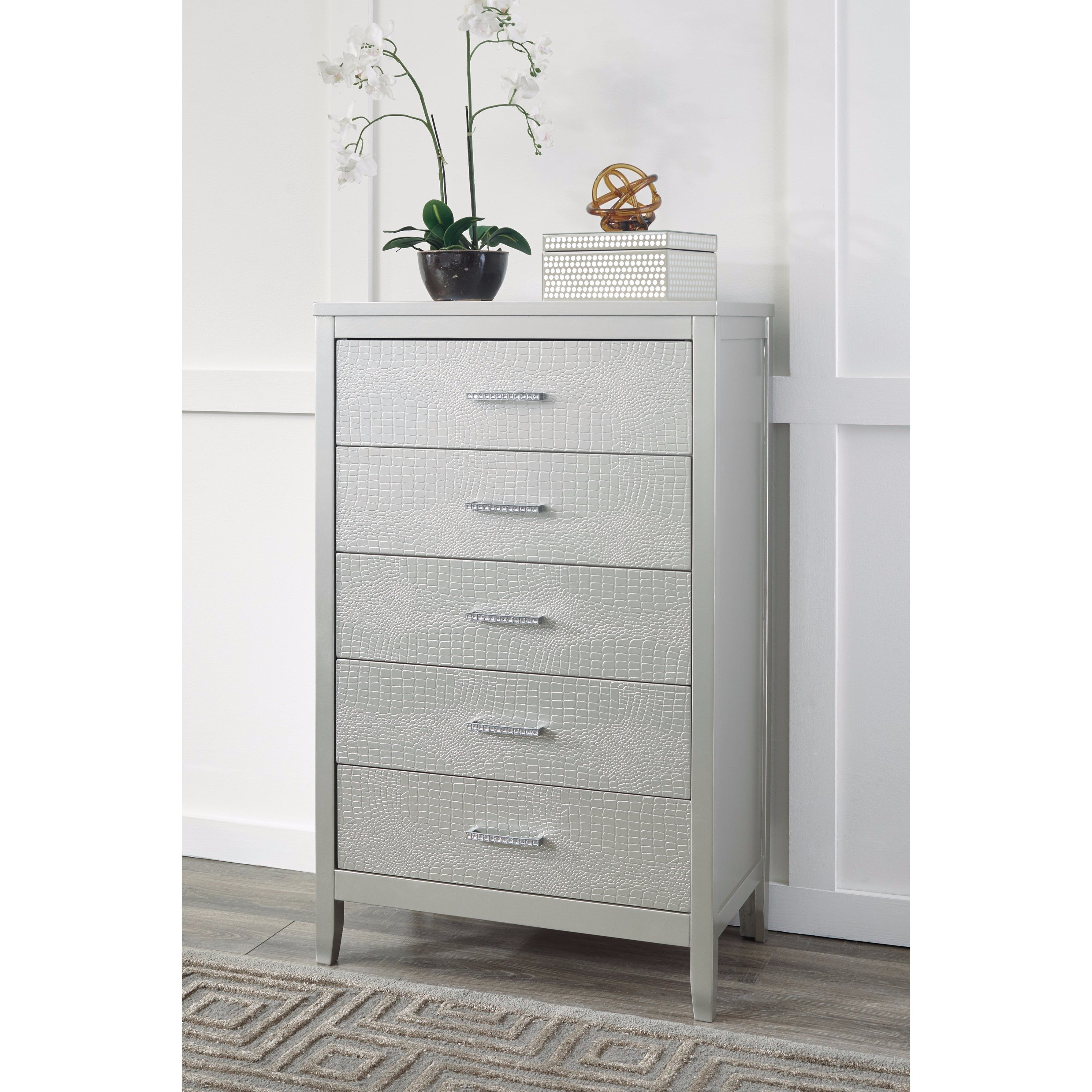 drawers item chest ashley design products contemporary annikus drawer five number by signature