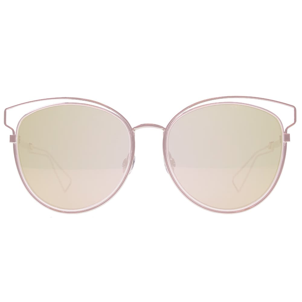 f65f6bf408 Shop Dior Dior Sideral 2 S JA0 0J Pink Metal Round Sunglasses Rose Gold  lens - Free Shipping Today - Overstock - 14287177