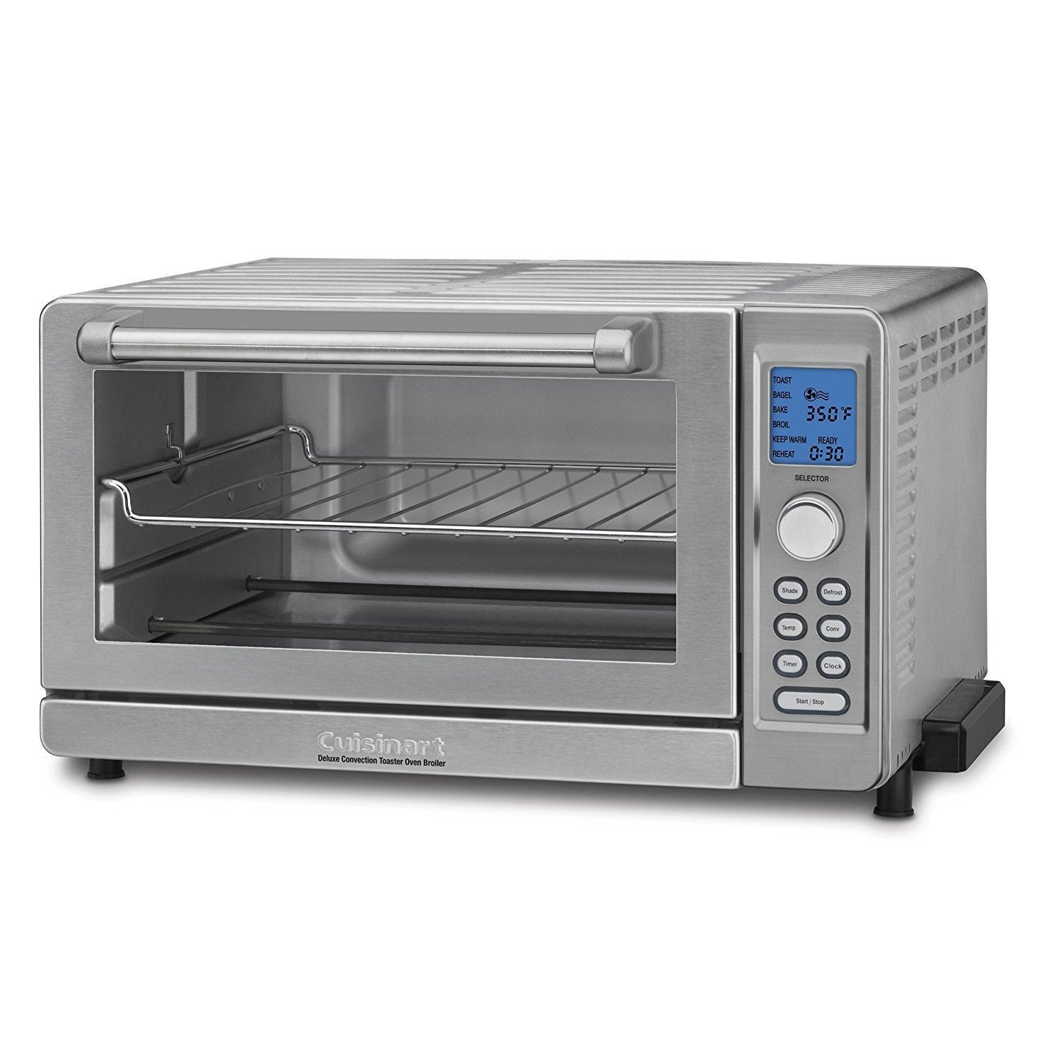 200694de241 Shop Cuisinart TOB-135 Deluxe Convection Toaster Oven Broiler (Refurbished)  - Free Shipping Today - Overstock - 14291009