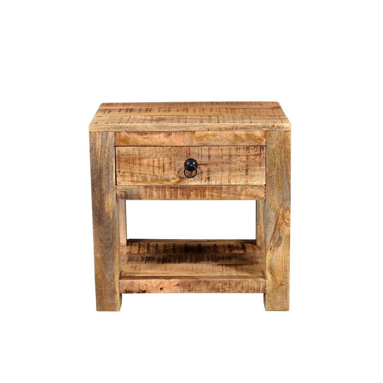 Timber Surat Mango Wood Bedside Table Free Shipping Today 20875083
