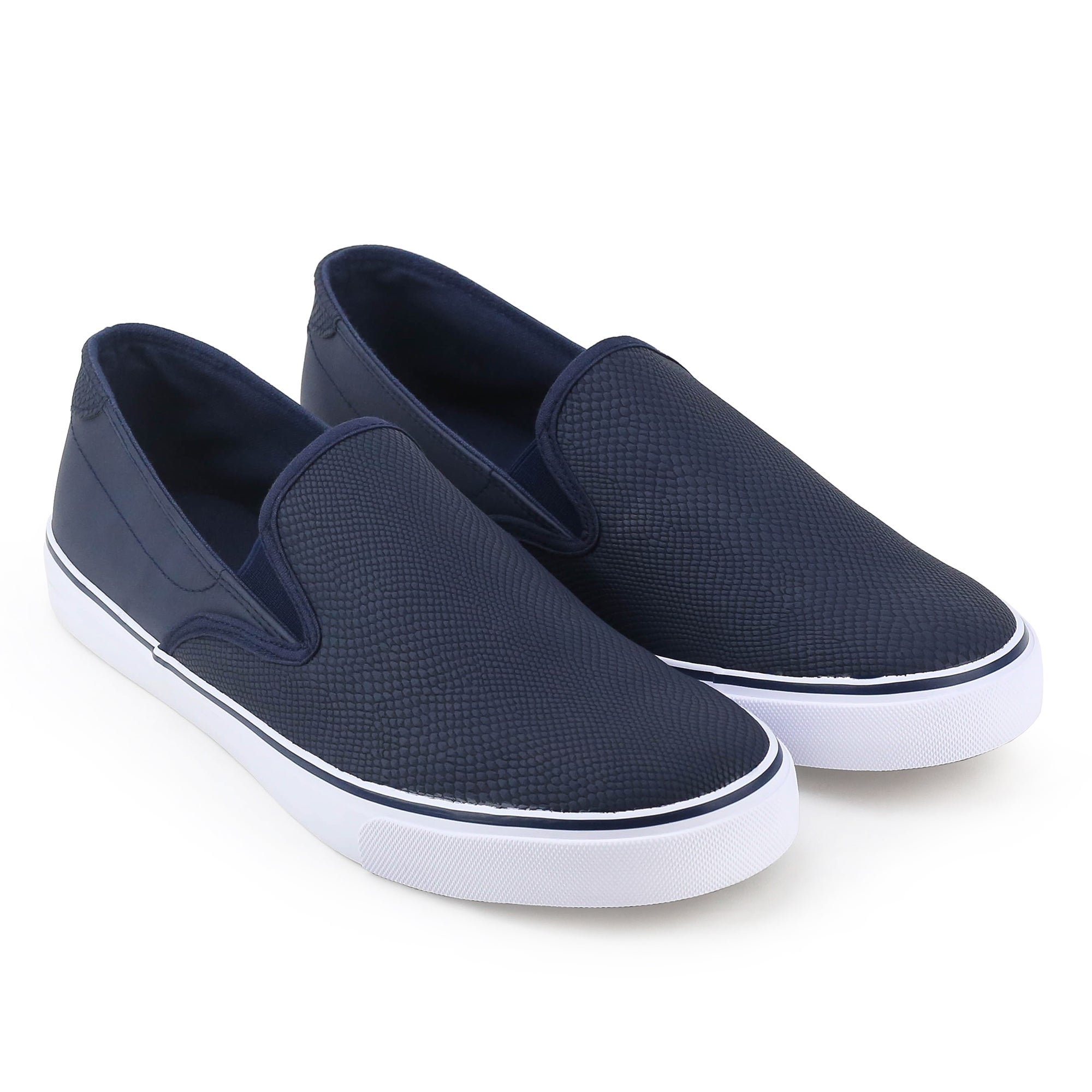 Unionbay Grayland Men's Black/White Slip On Sneaker - Free Shipping On  Orders Over $45 - Overstock.com - 20880942