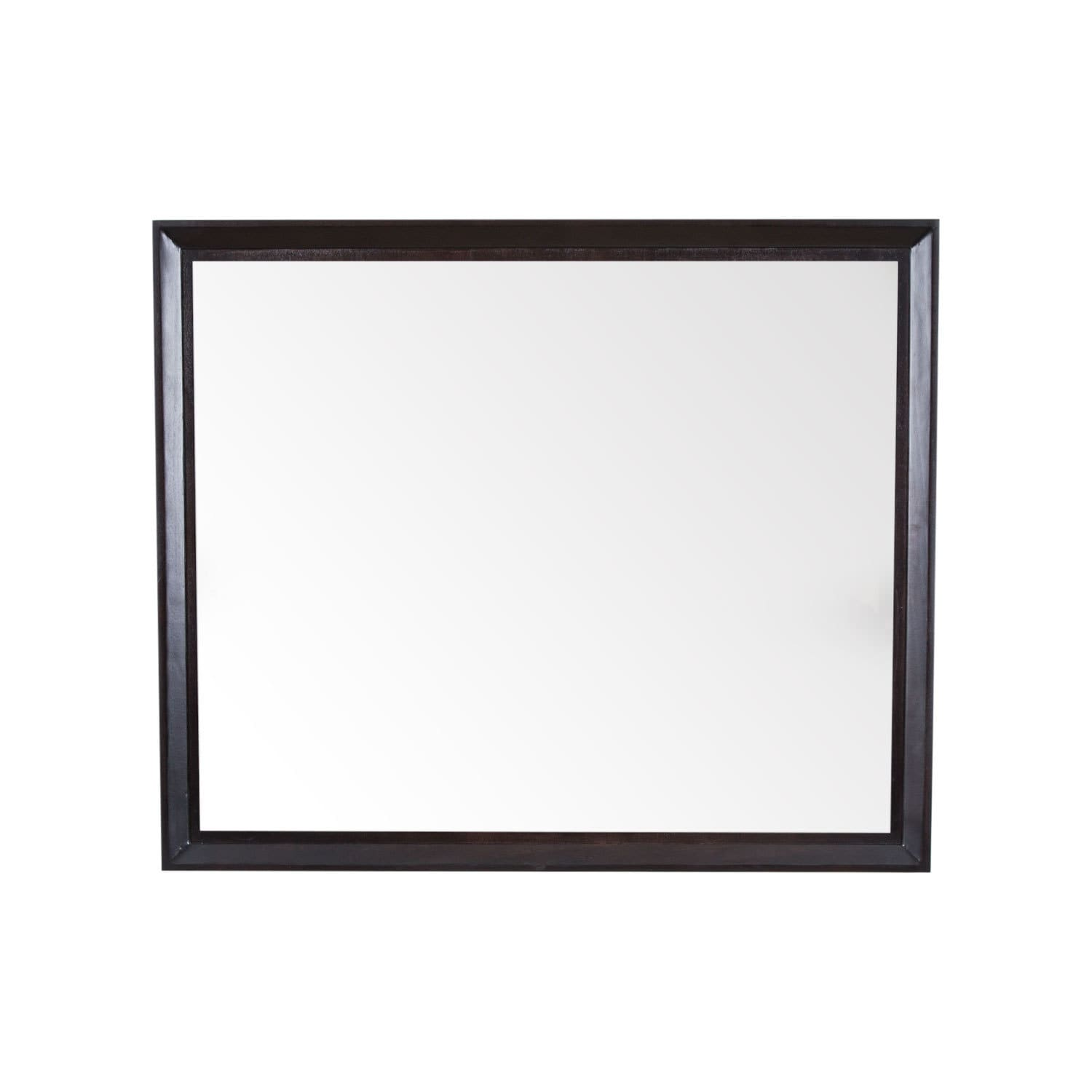 Maykke Imogen 36 Inch W X 30 H Mirror In White Free Shipping Today 14306625