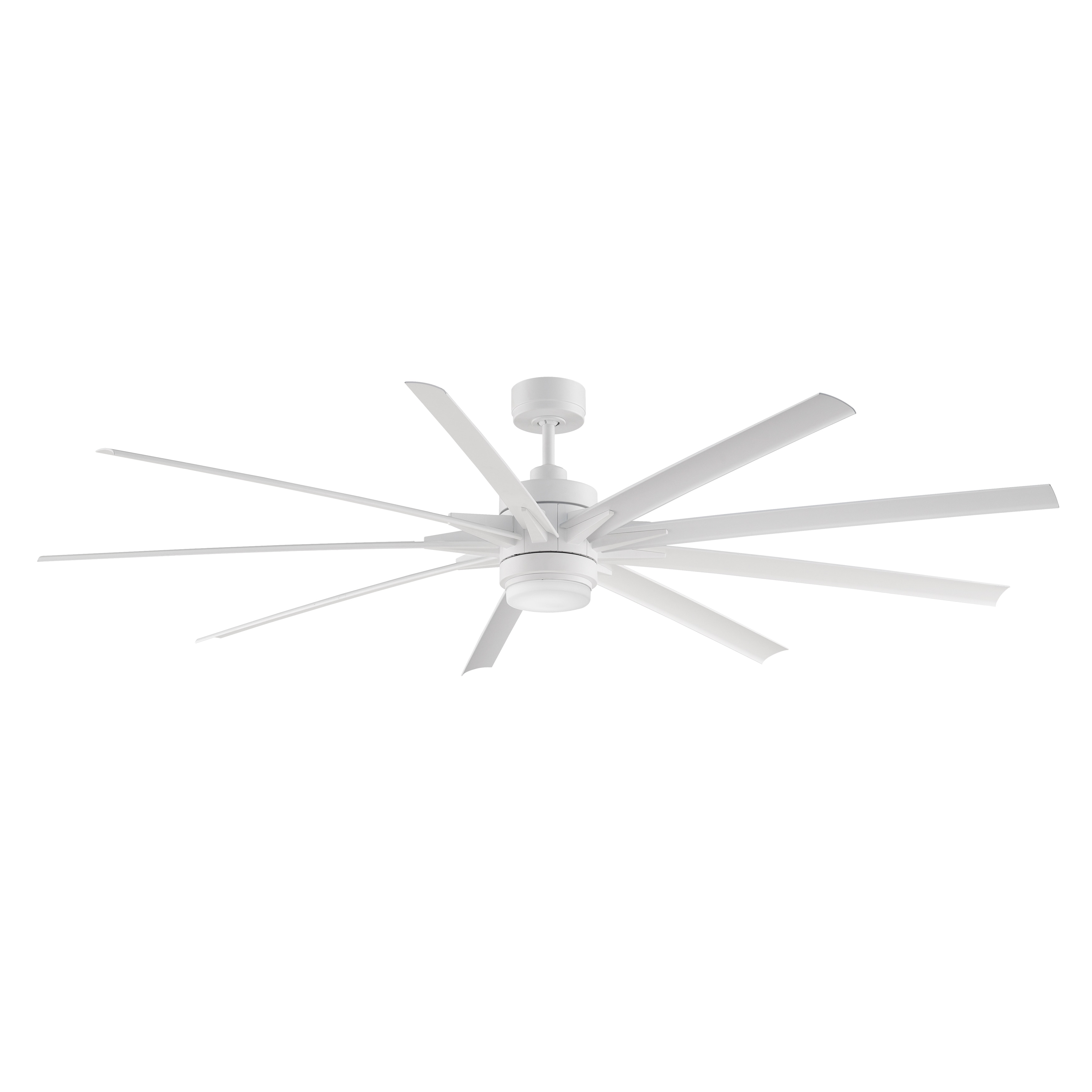84 inch ceiling fan tall room shop odyn 84 inch ceiling fan with led free shipping today overstockcom 14306726