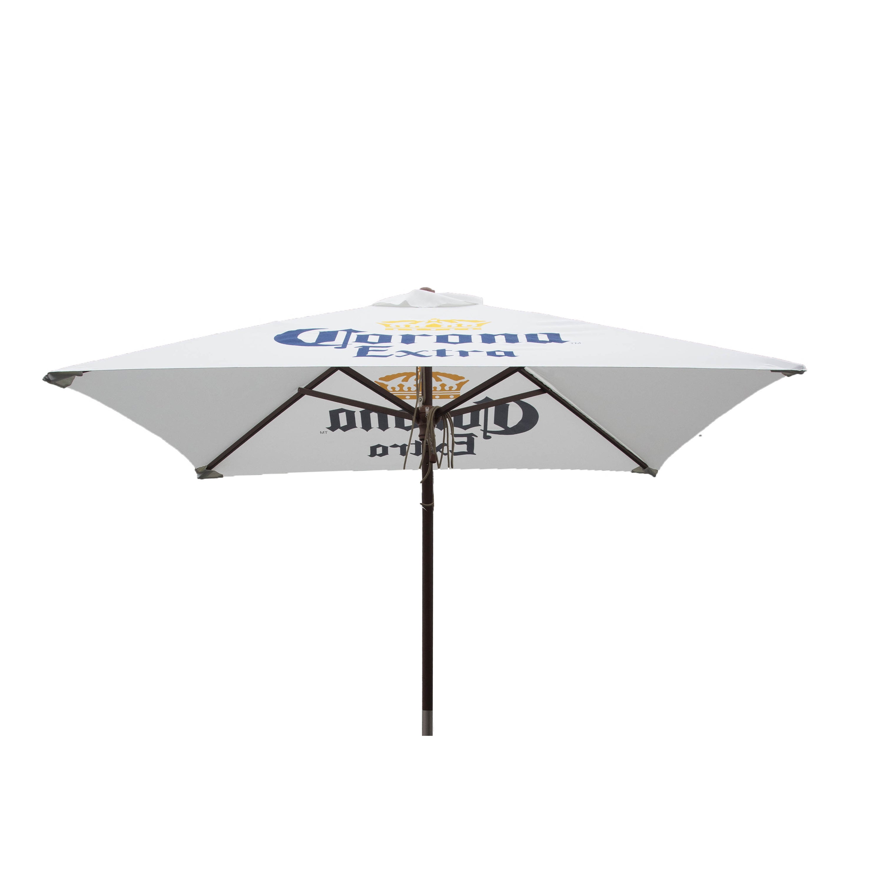 Delicieux Shop Corona Extra 6.5 Ft Square Patio Market Umbrella   Free Shipping Today    Overstock.com   14308514