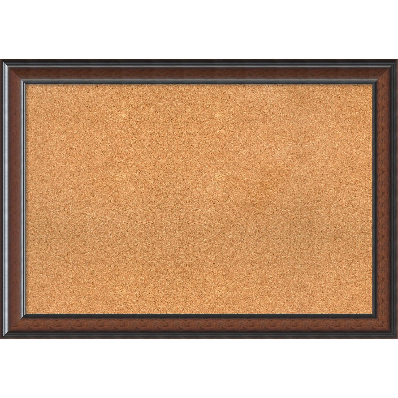 Framed cork board cyprus walnut free shipping today overstock framed cork board cyprus walnut free shipping today overstock 20890652 jeuxipadfo Gallery