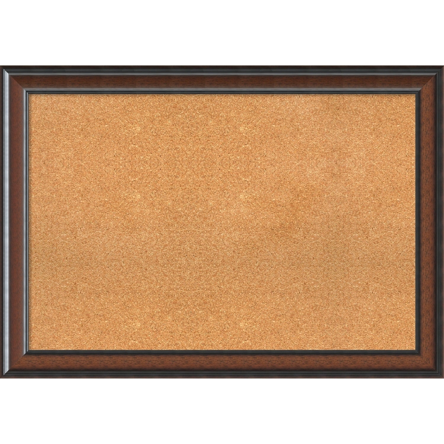 Framed Cork Board, Cyprus Walnut  Free Shipping Today