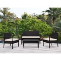 DG Casa San Juan Loveseat, 2 Chairs and Table Set (Set of 4)