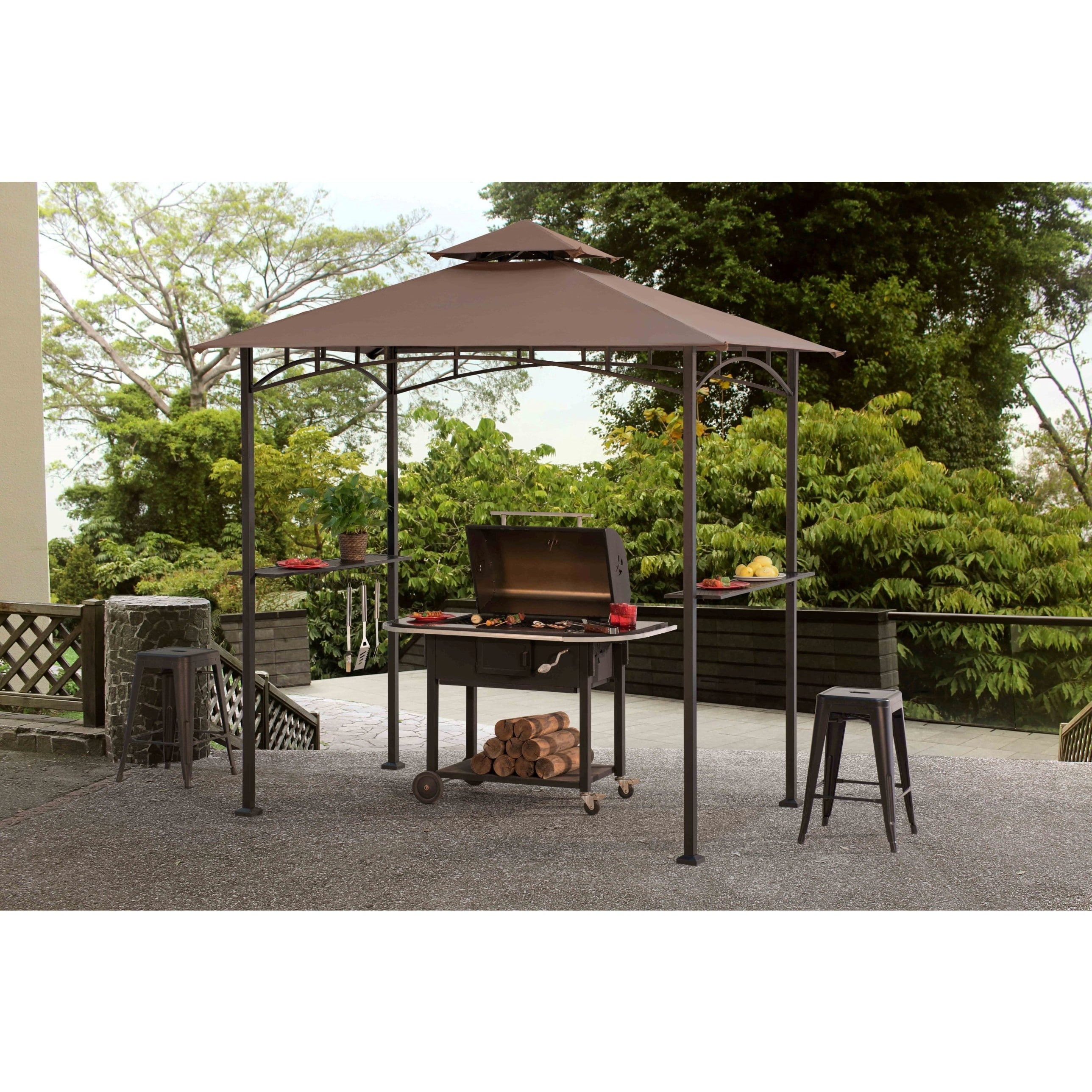 Shop Sunjoy Grill Gazebo - On Sale - Free Shipping Today - Overstock on