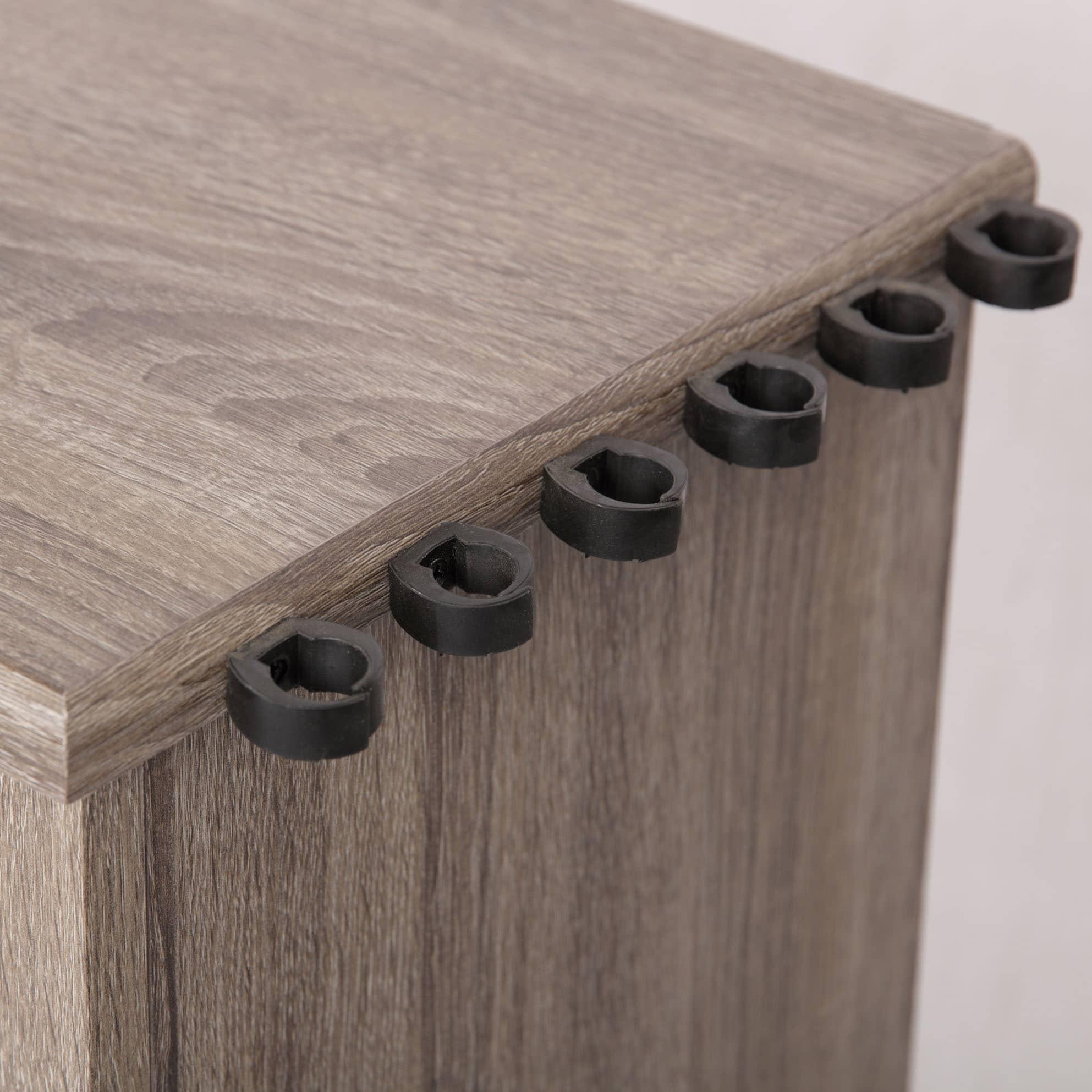 ladder shelf pin american open furniture industrial bookcase classics