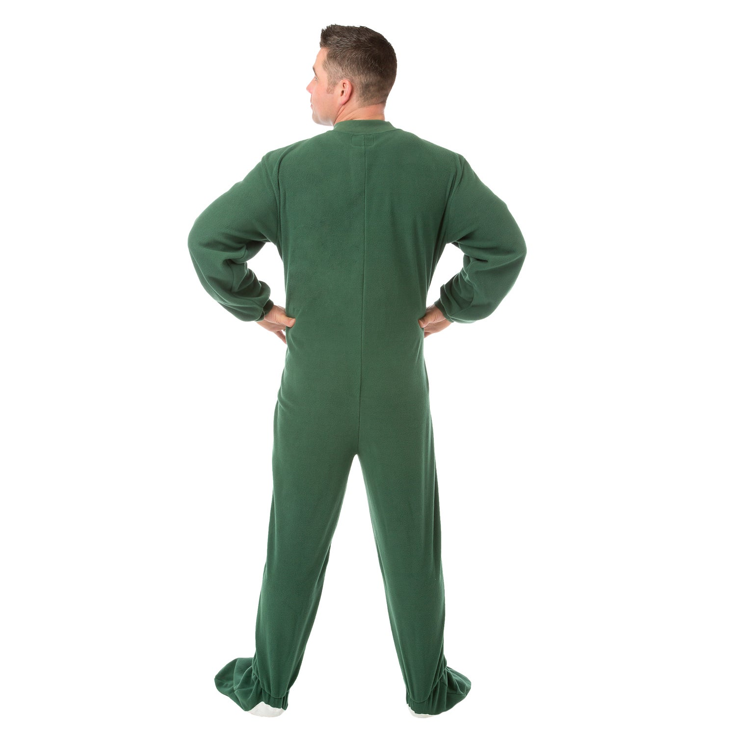 Shop Big Feet PJs Green Micro-polar Fleece Adult Footed Pajamas NO Drop  Seat Sleeper - On Sale - Free Shipping Today - Overstock - 14311590 d2805dce4