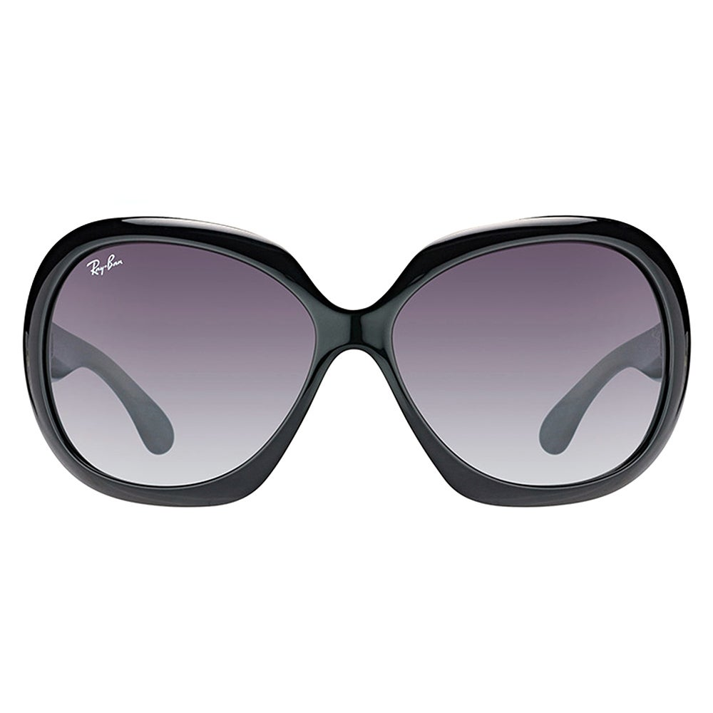 5f6ce45a767 Shop Ray-Ban RB 4098 601 8G Jackie Ohh II Black Plastic Round Sunglasses  Grey Gradient Lens - On Sale - Free Shipping Today - Overstock - 14323956