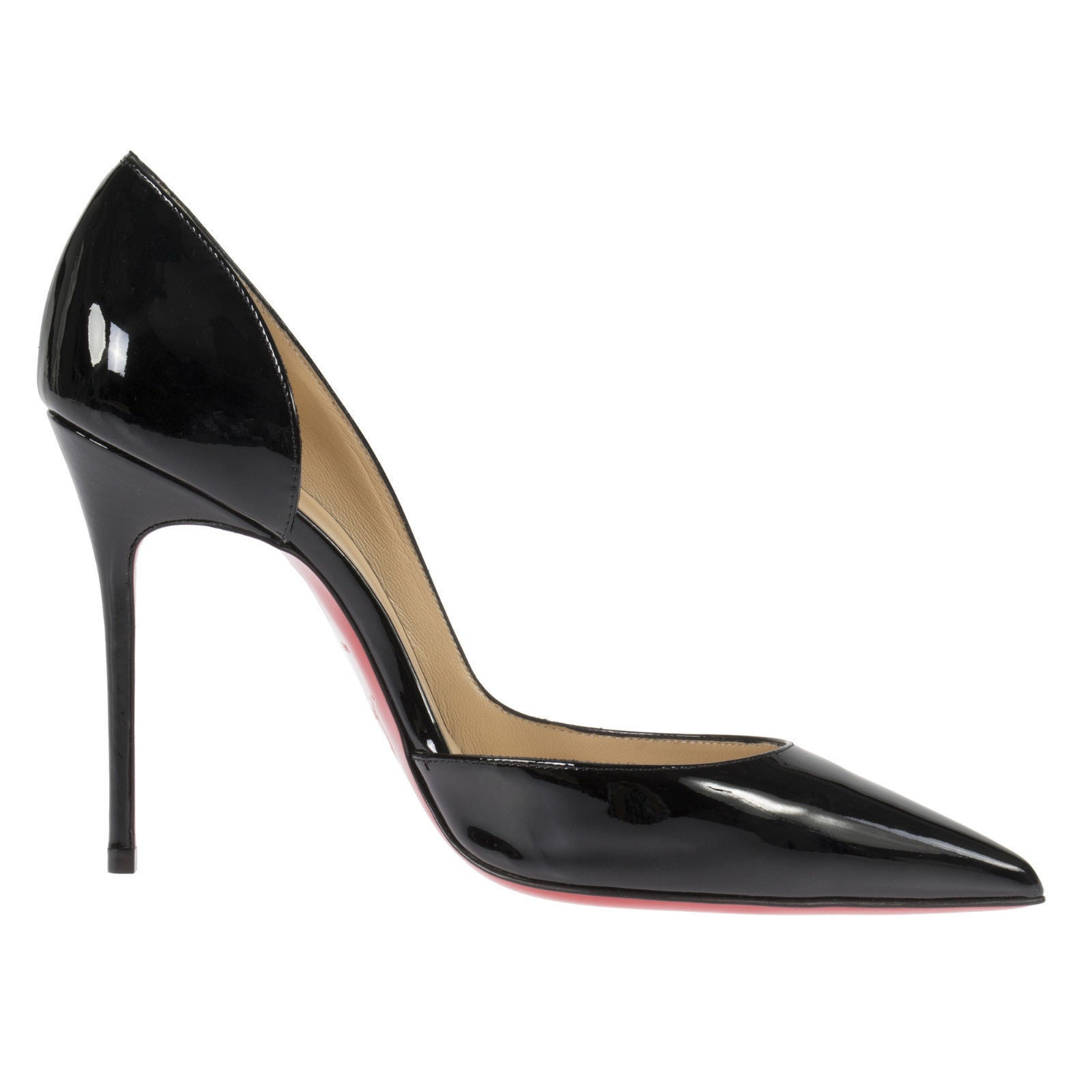 a9162e46ff Shop Christian Louboutin Iriza Black Patent d'Orsay Shoes - Free Shipping  Today - Overstock - 14325896