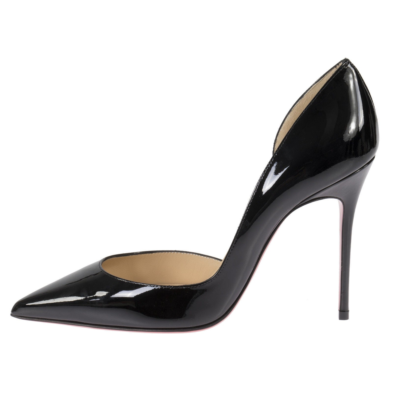 4c583bac91 Shop Christian Louboutin Iriza Black Patent d'Orsay Shoes - Free Shipping  Today - Overstock - 14325896