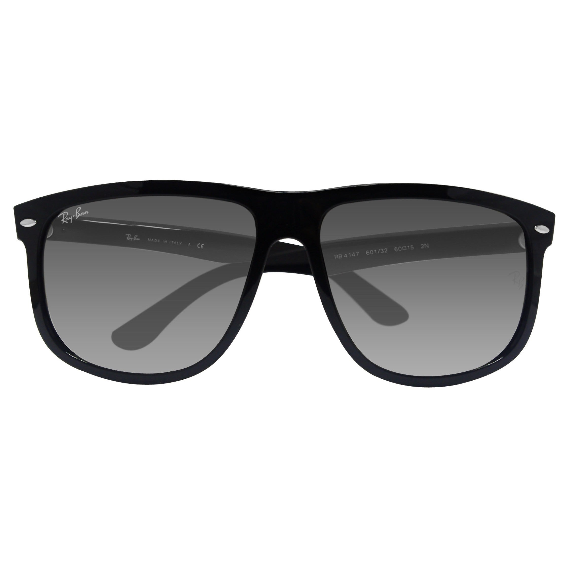 ae6eb7a2ec1 Shop Ray-Ban RB4147 601 32 Black Frame Light Grey Gradient 60mm Lens  Sunglasses - Free Shipping Today - Overstock - 14325964