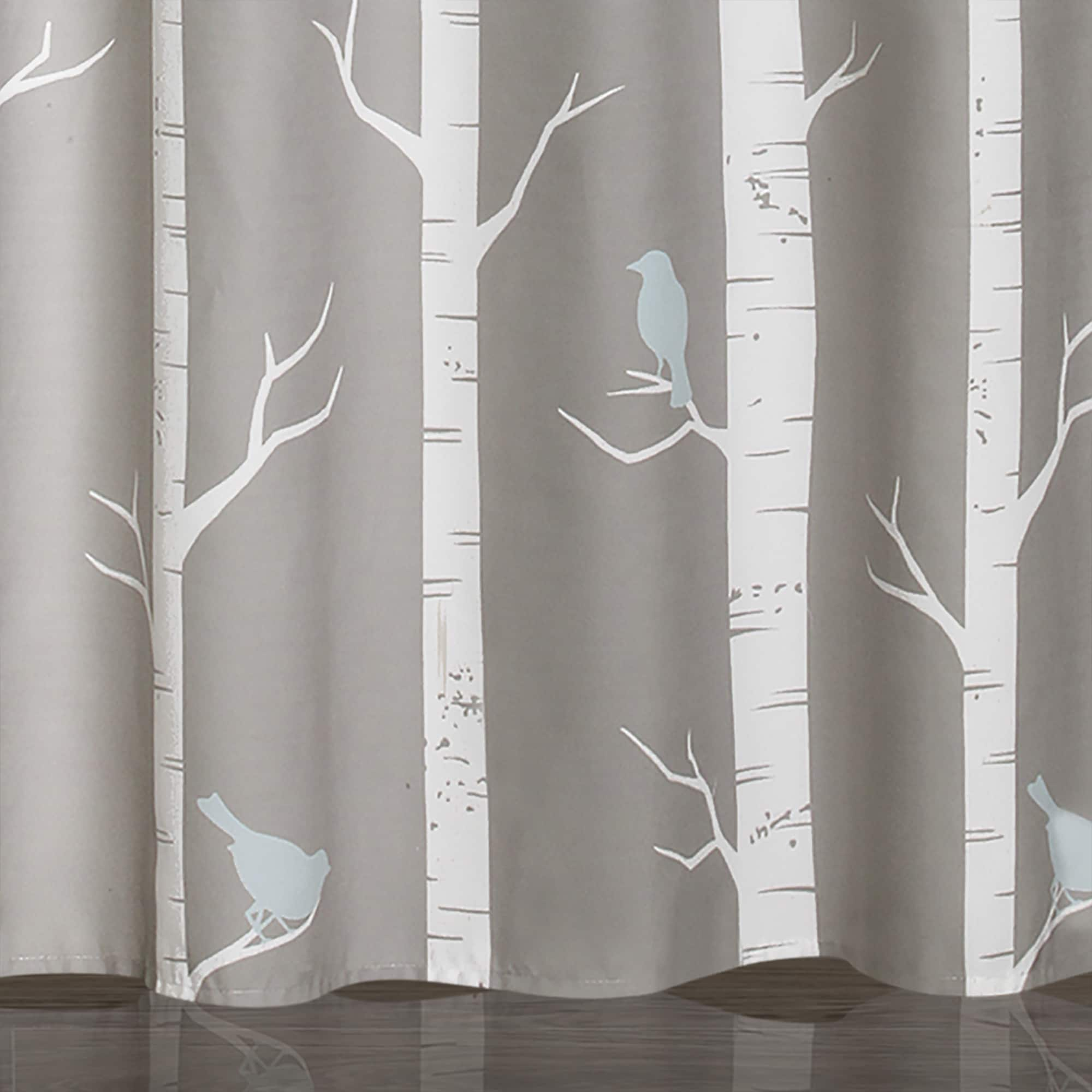 mesmerizing shower grey bird ibiza fabric outstanding curtains furniture curtain
