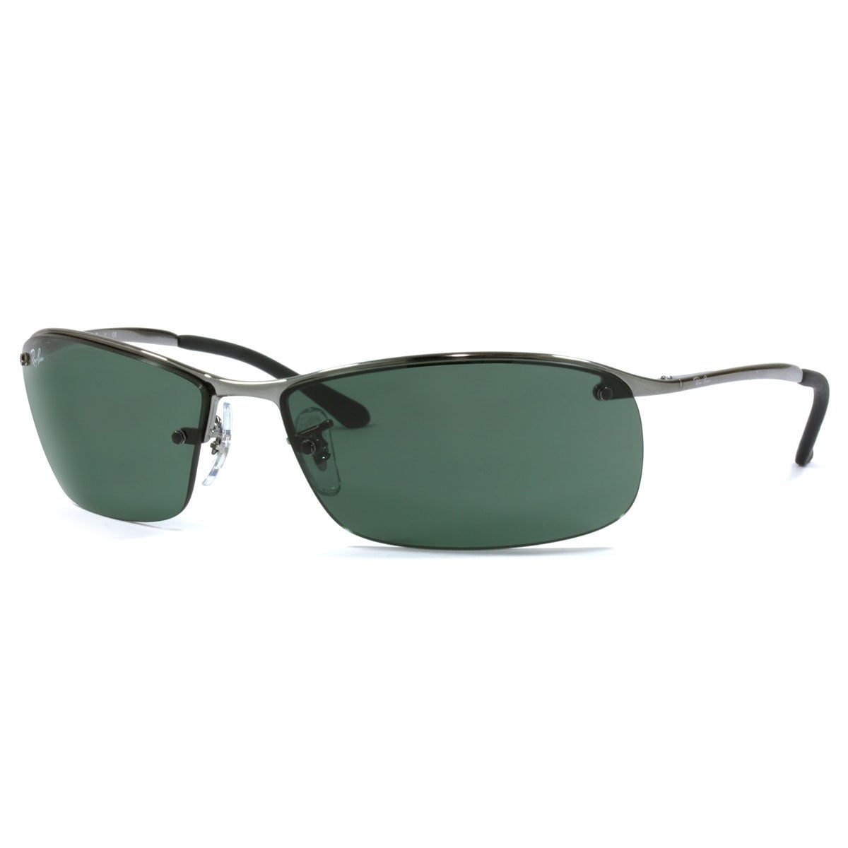 b770fd7403a Shop Ray-Ban RB3183 004 71 Gunmetal Frame Green Classic 63mm Lens  Sunglasses - Free Shipping Today - Overstock - 14327881