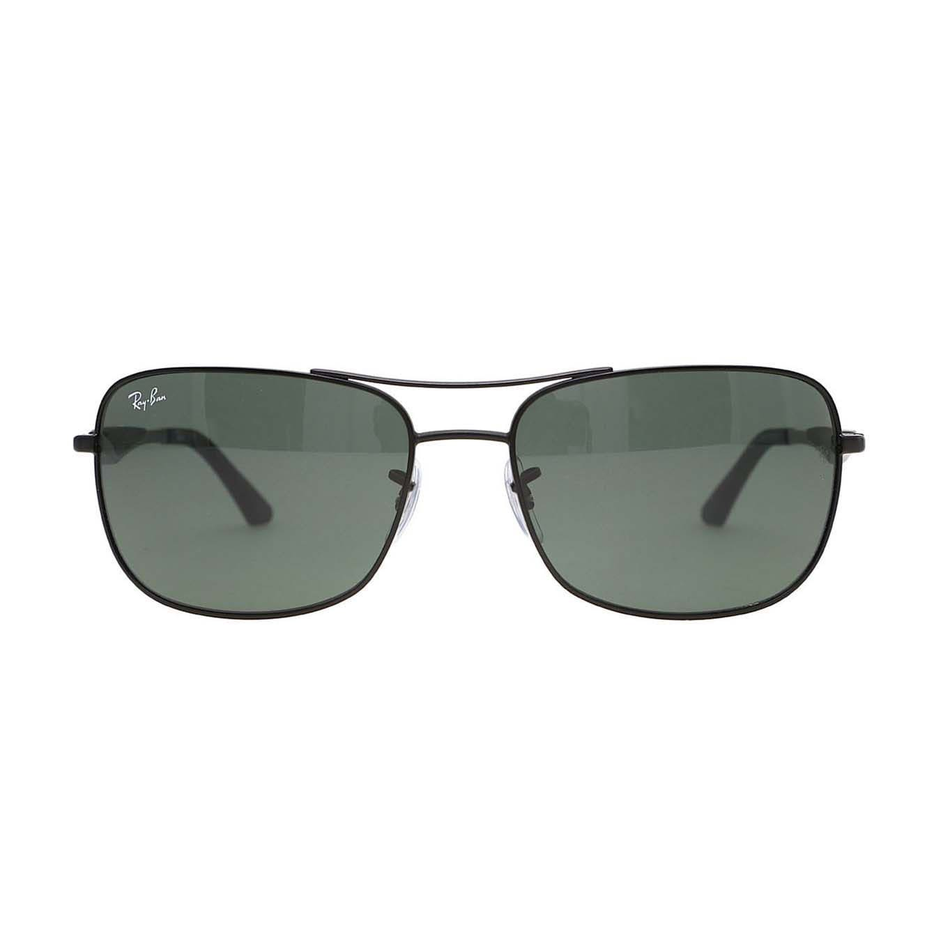 47572bee7c1 Shop Ray-Ban RB3515 006 71 Black Frame Green Classic 58m Lens Sunglasses -  Free Shipping Today - Overstock - 14327886