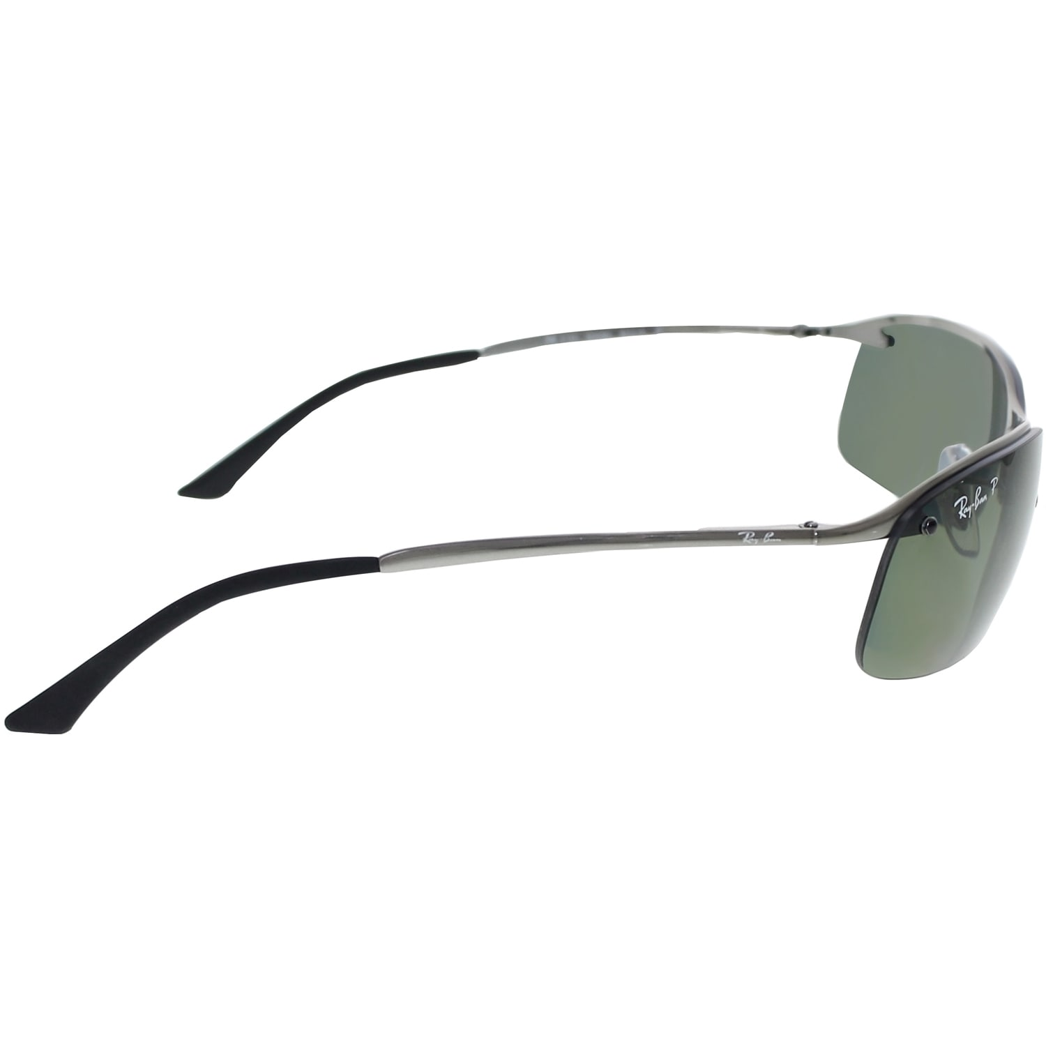 2c61ebe8e716c Shop Ray-Ban RB3183 004 9A Gunmetal Frame Polarized Green 63mm Lens  Sunglasses - Free Shipping Today - Overstock.com - 14327888