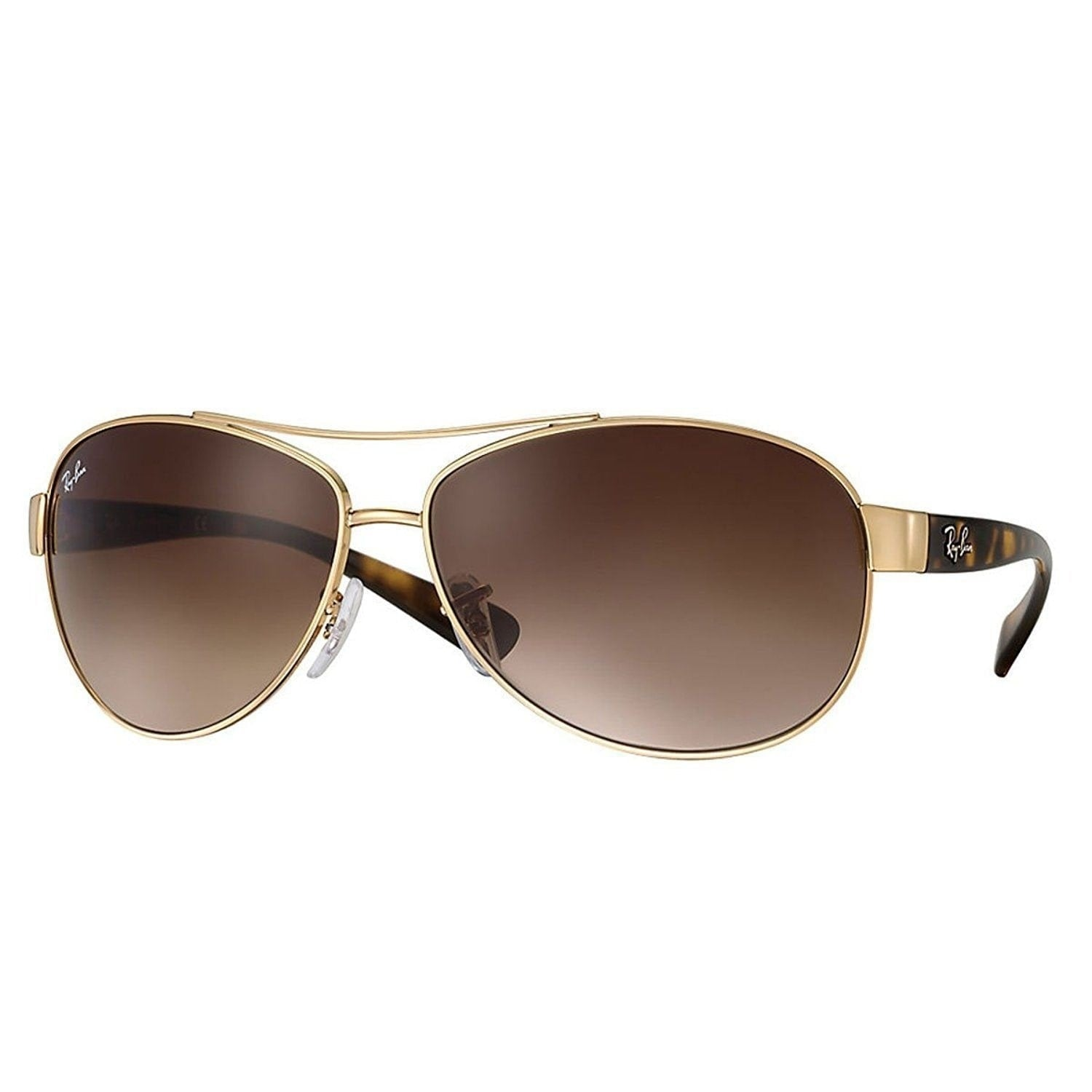 b75b6f9ade8 Shop Ray-Ban RB3386 001 13 Gold Tortoise Frame Brown Gradient 67mm Lens  Sunglasses - Free Shipping Today - Overstock - 14327914