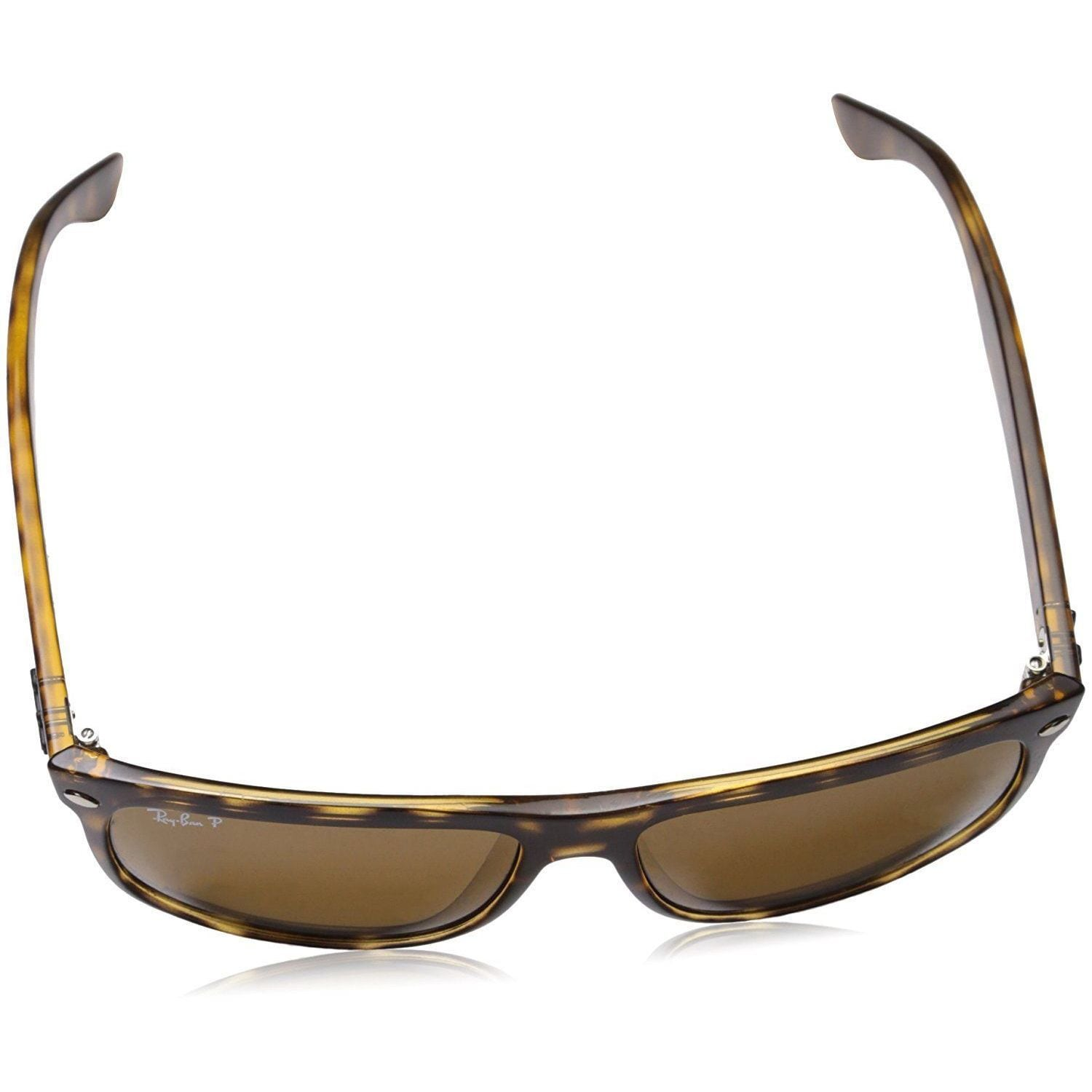13949dbe3073b Shop Ray-Ban RB4147 710 57 Tortoise Frame Polarized Brown 60mm Lens  Sunglasses - Free Shipping Today - Overstock - 14327942