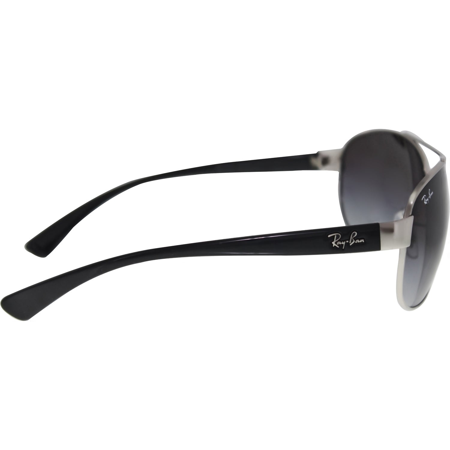 9b576f6ba5 Shop Ray-Ban RB3386 003 8G Silver Black Frame Grey Gradient 67mm Lens  Sunglasses - Free Shipping Today - Overstock - 14327958