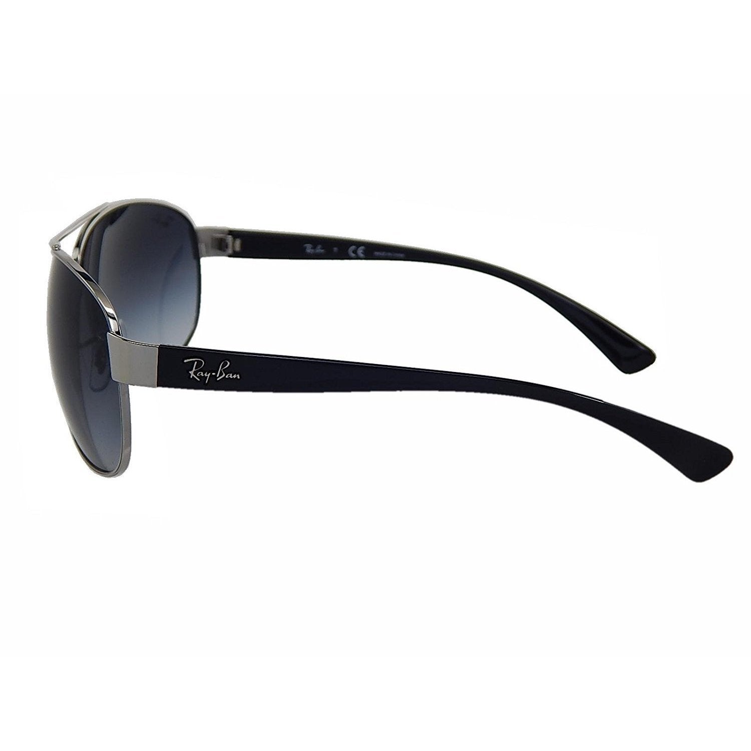 155a5922022 Shop Ray-Ban RB3386 003 8G Silver Black Frame Grey Gradient 67mm Lens  Sunglasses - Free Shipping Today - Overstock - 14327958