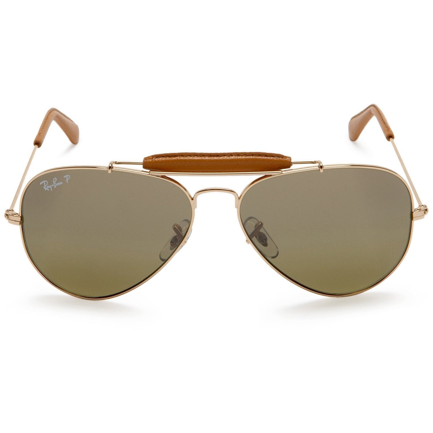 4594299334 Shop Ray-Ban Outdoorsman Craft RB3422Q 001 M9 Gold Frame Polarized Green  Lens Sunglasses - Free Shipping Today - Overstock - 14328090