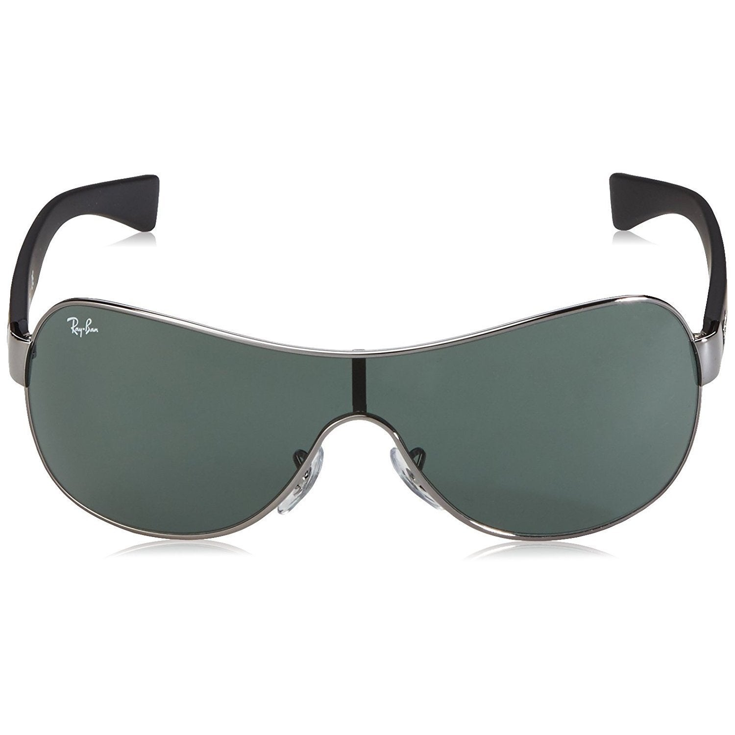 d4522b05cf Shop Ray-Ban RB3471 004 71 Gunmetal Black Frame Green Classic 32mm Lens  Sunglasses - Free Shipping Today - Overstock - 14328115