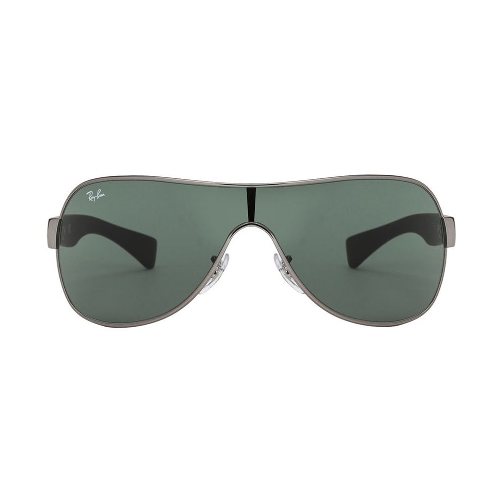 2d9bbe32167 Shop Ray-Ban RB3471 004 71 Gunmetal Black Frame Green Classic 32mm Lens  Sunglasses - Free Shipping Today - Overstock - 14328115