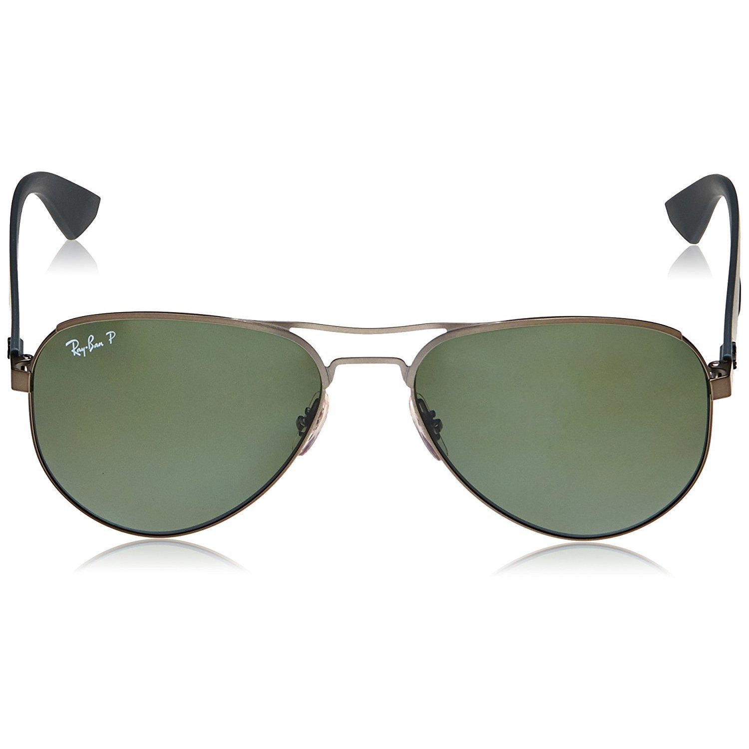 89bb396ce6 Shop Ray-Ban RB3523 029 9A Gunmetal Grey Frame Polarized Green 59mm Lens  Sunglasses - Free Shipping Today - Overstock - 14328598