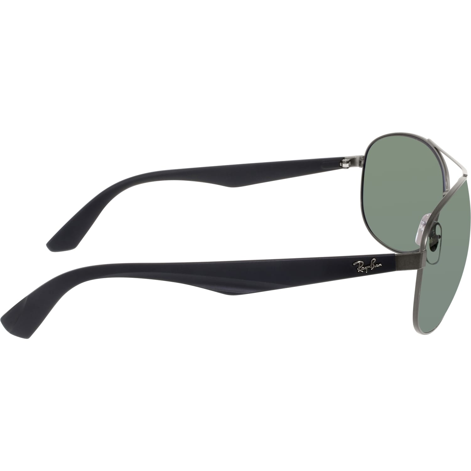 562788f3263 Shop Ray-Ban RB3526 029 9A Gunmetal Black Frame Polarized Green 63mm Lens  Sunglasses - Free Shipping Today - Overstock.com - 14328614
